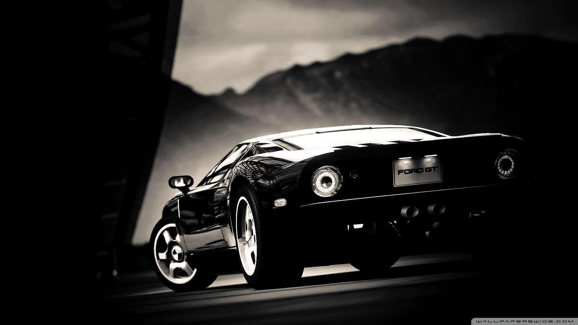 Res: 1920x1080, Ford Gt Black Wallpaper 1080p HD