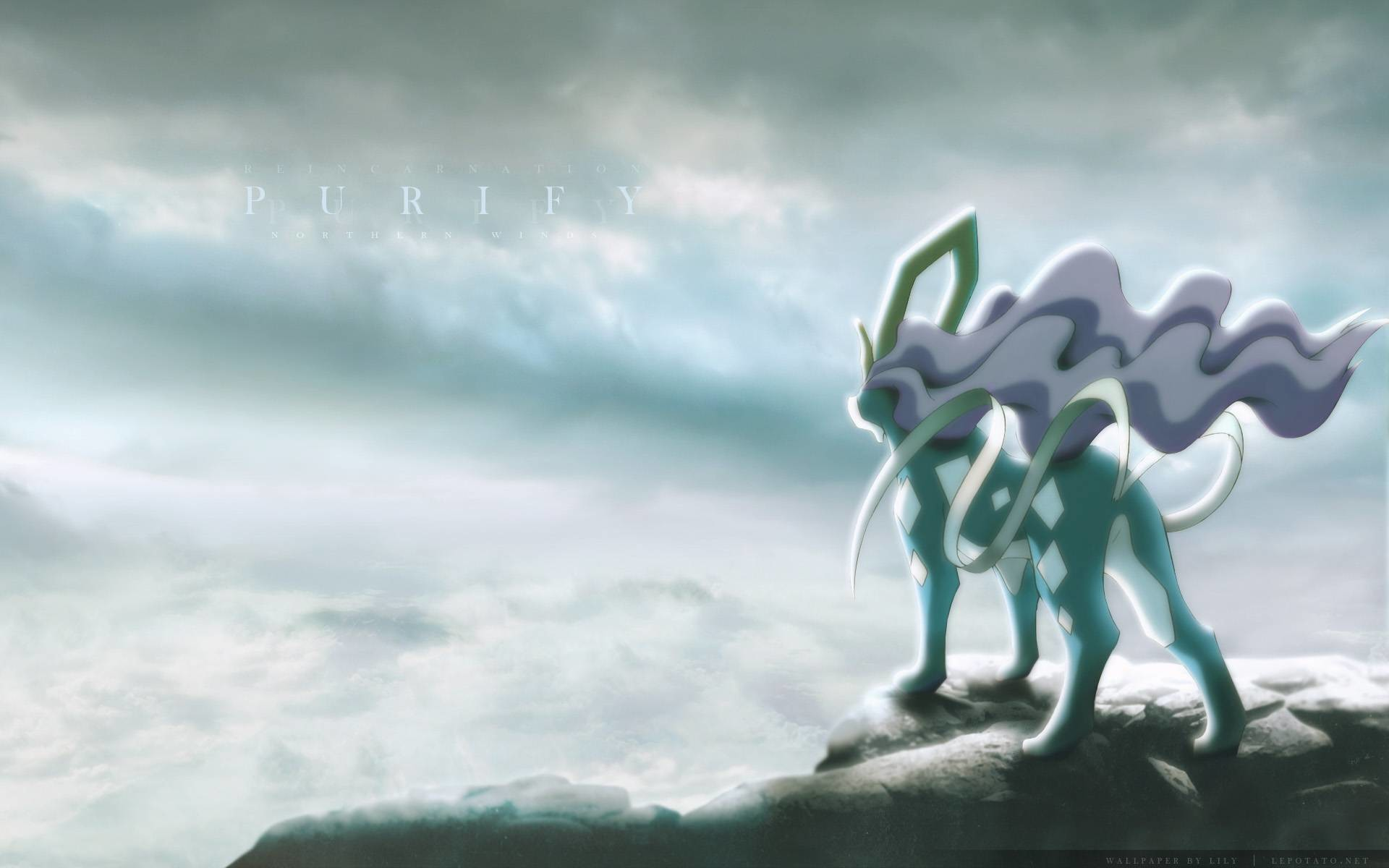 Res: 1920x1200, Epic Suicune Wallpaper!!! - Pokemon Wallpaper