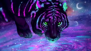 Neon Tiger wallpapers