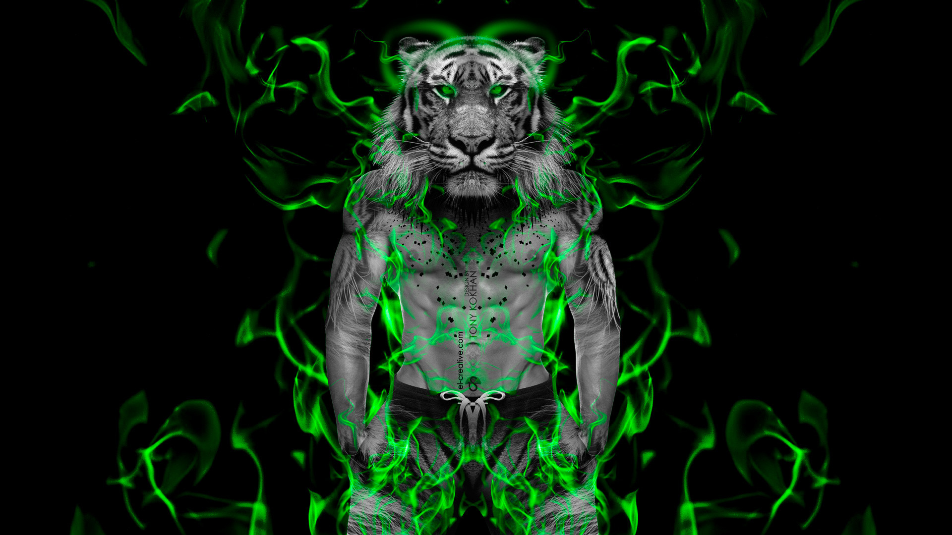 Res: 1920x1080, EV.191 Green Tiger,  px Green Tiger Wallpapers