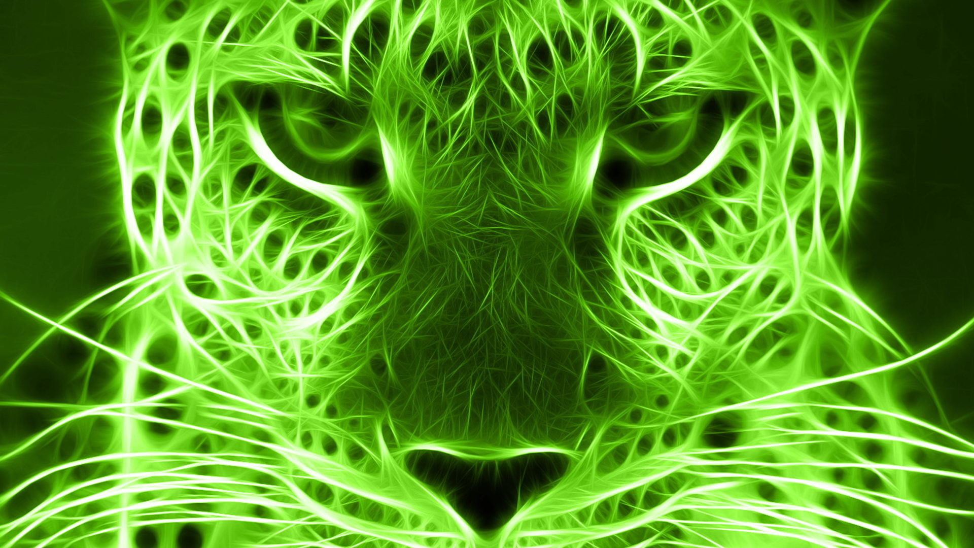 Res: 1920x1080, Photo of Green Tiger HD (p.228841715) - M.F. Backgrounds