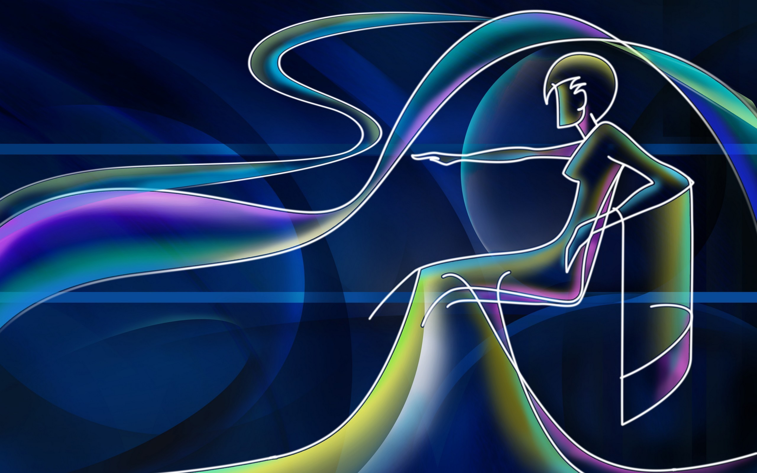 Res: 2560x1600,  Cool 3D Neon Wallpapers : Find best latest Cool 3D Neon Wallpapers  in HD for