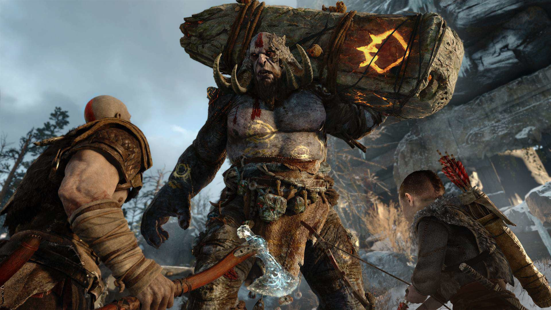 Res: 1920x1080, How The God Of War 4 Team Settled On Norse Mythology god of war ps4 reveal