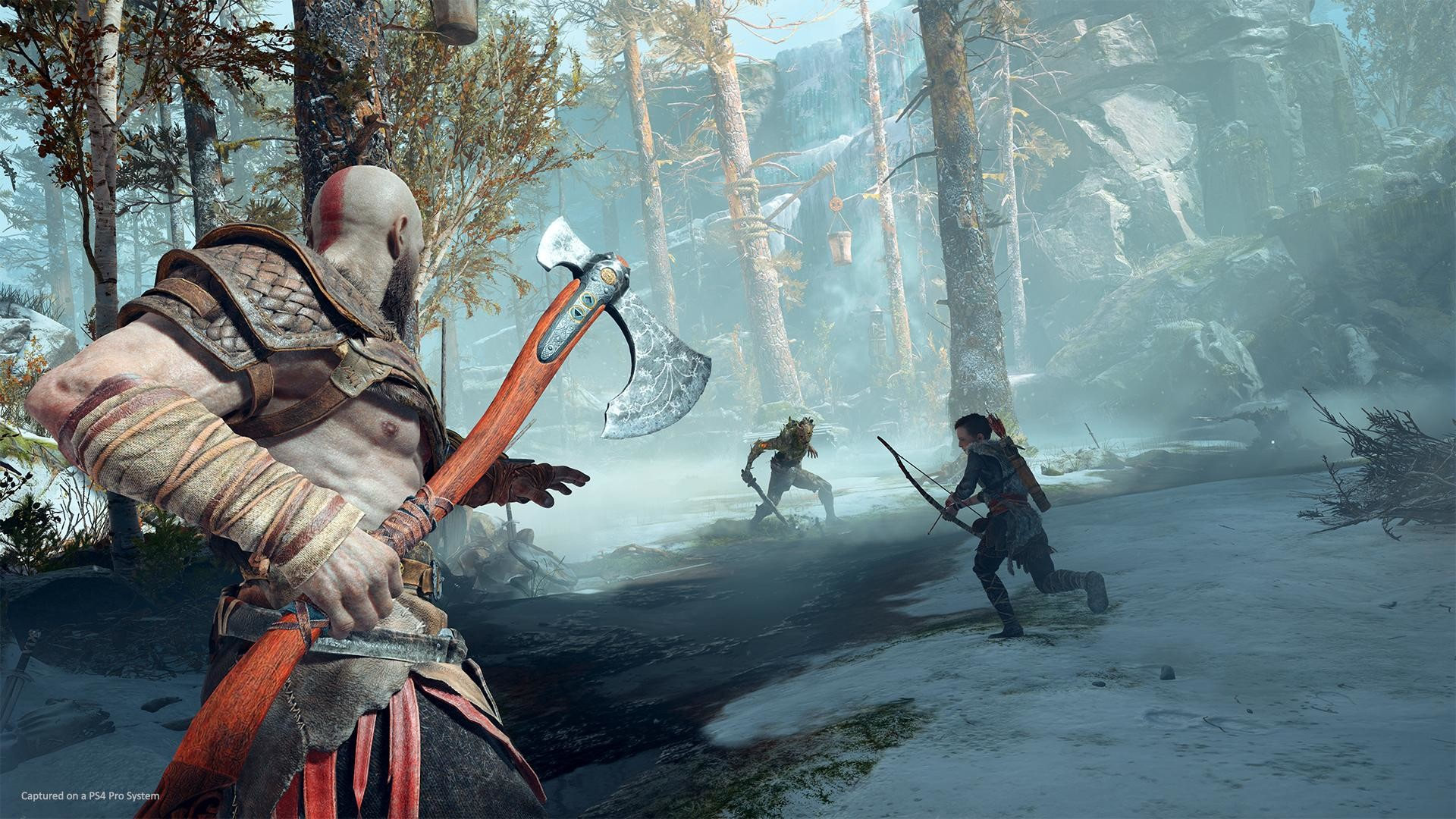 Res: 1920x1080, It seems like, much like the first batch of God of War games was based on  Greek mythology, future games in the series will be based on Norse mythology  for ...