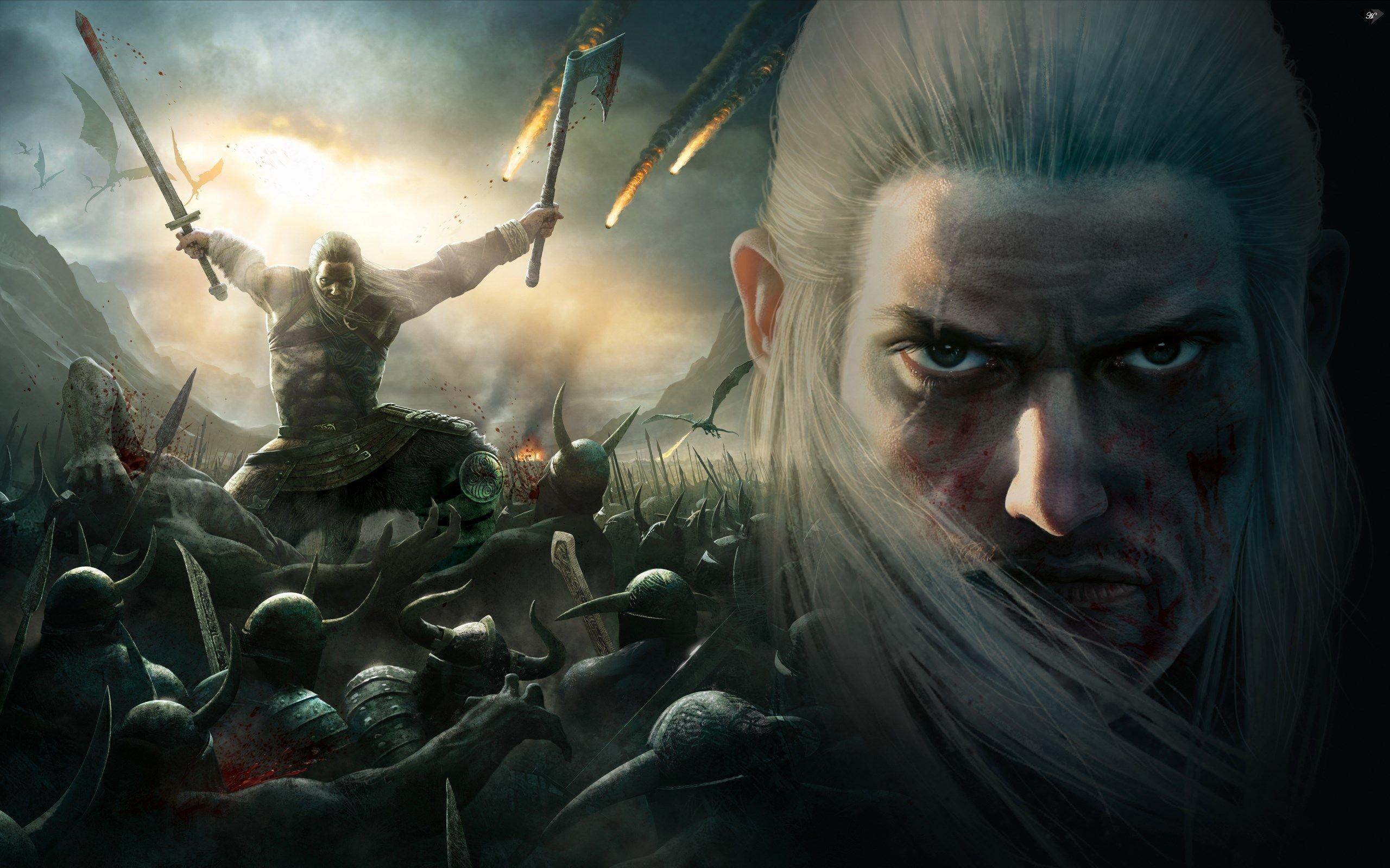 Res: 2560x1600, wallpaper images viking battle for asgard