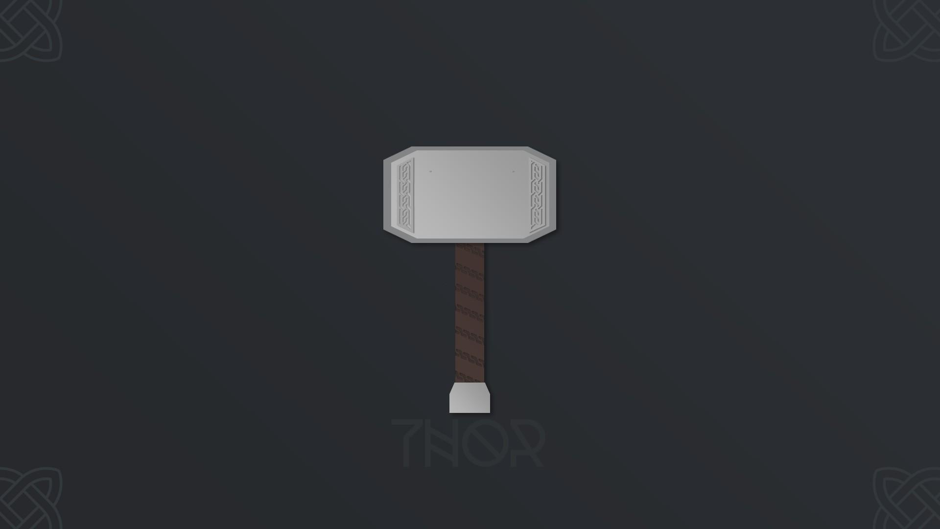 Res: 1920x1080, Thor, Marvel Heroes, Hammer, Mjolnir, Norse, Mythology, Celtic Wallpapers  HD / Desktop and Mobile Backgrounds