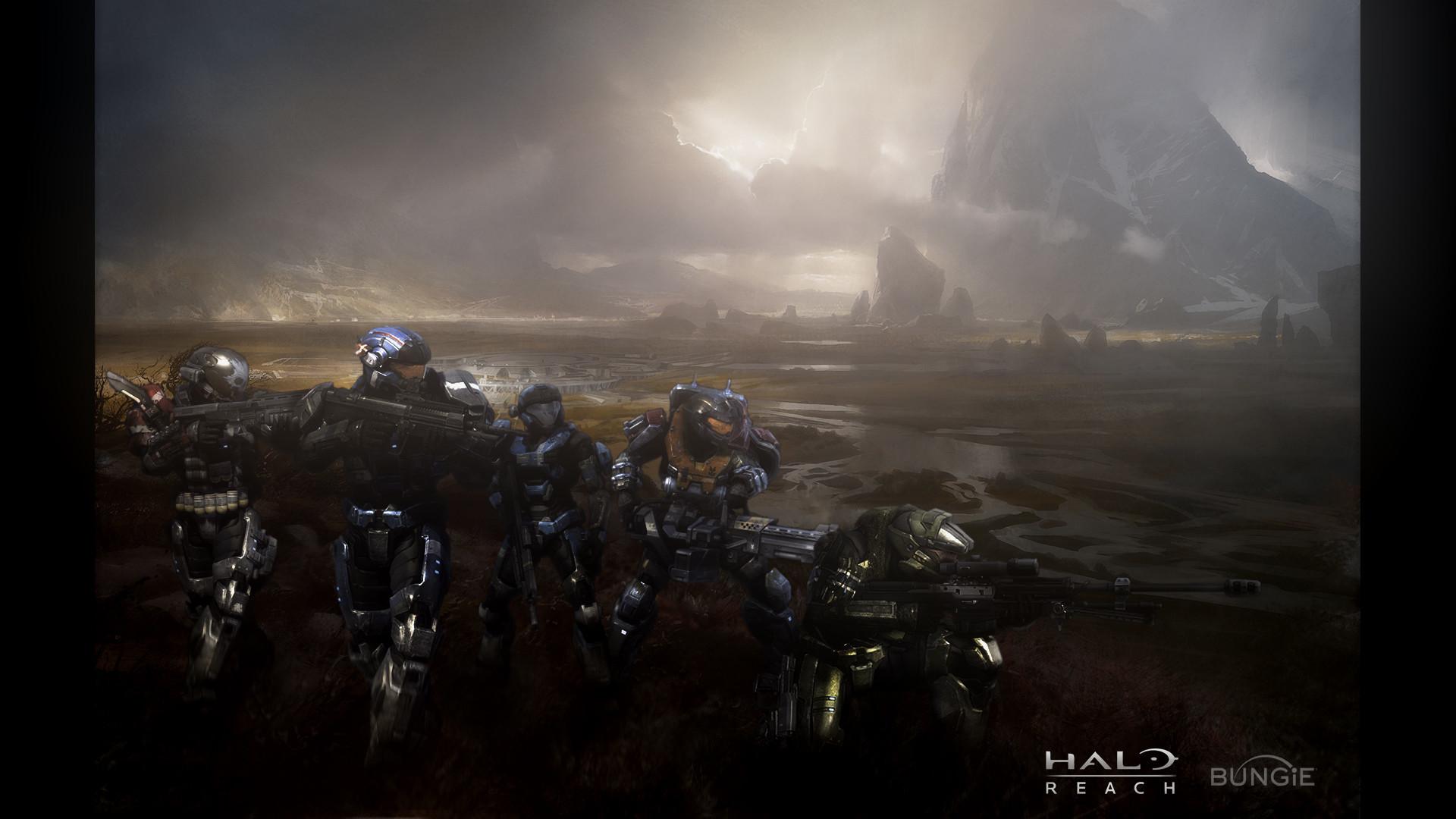 Res: 1920x1080,  Halo Reach 1080p Wallpaper .