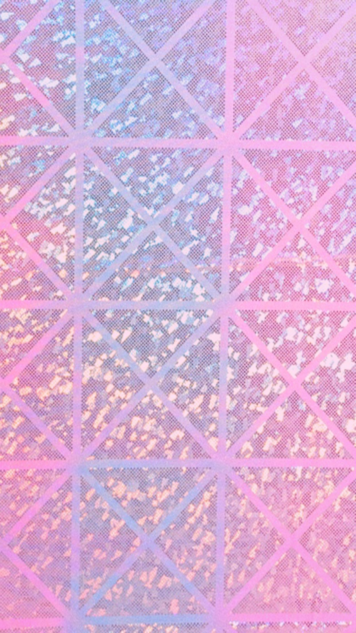 Res: 1242x2208, Iridescent Holographic Wallpaper, iPhone, Android, HD, Background, Pink,  Purple,