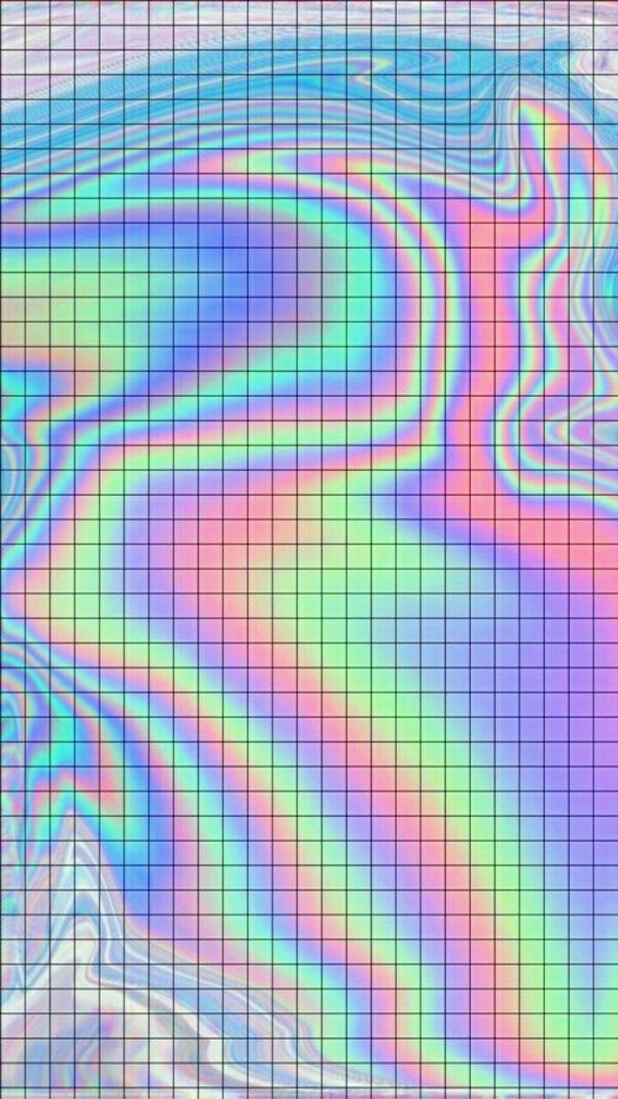 Res: 1242x2208, Holo Wallpapers, Holographic Wallpapers, Holographic Background, Iphone  Wallpaper Grid, Screen Wallpaper, Iphone Wallpaper Tumblr Hipster, Lit  Wallpaper, ...