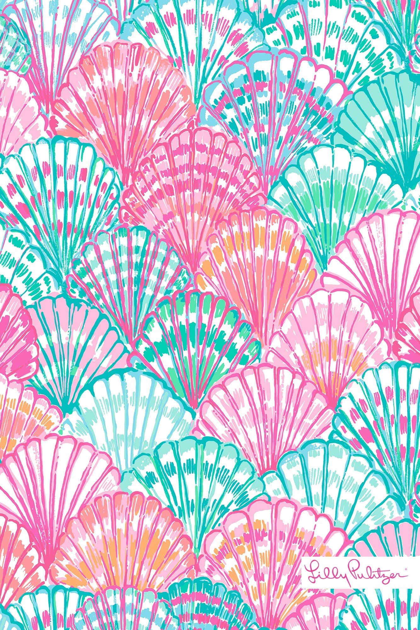 Res: 1334x2001, Holographic Wallpaper New Lilly Pulitzer Oh Shello Mobile Wallpaper  Wallpapers