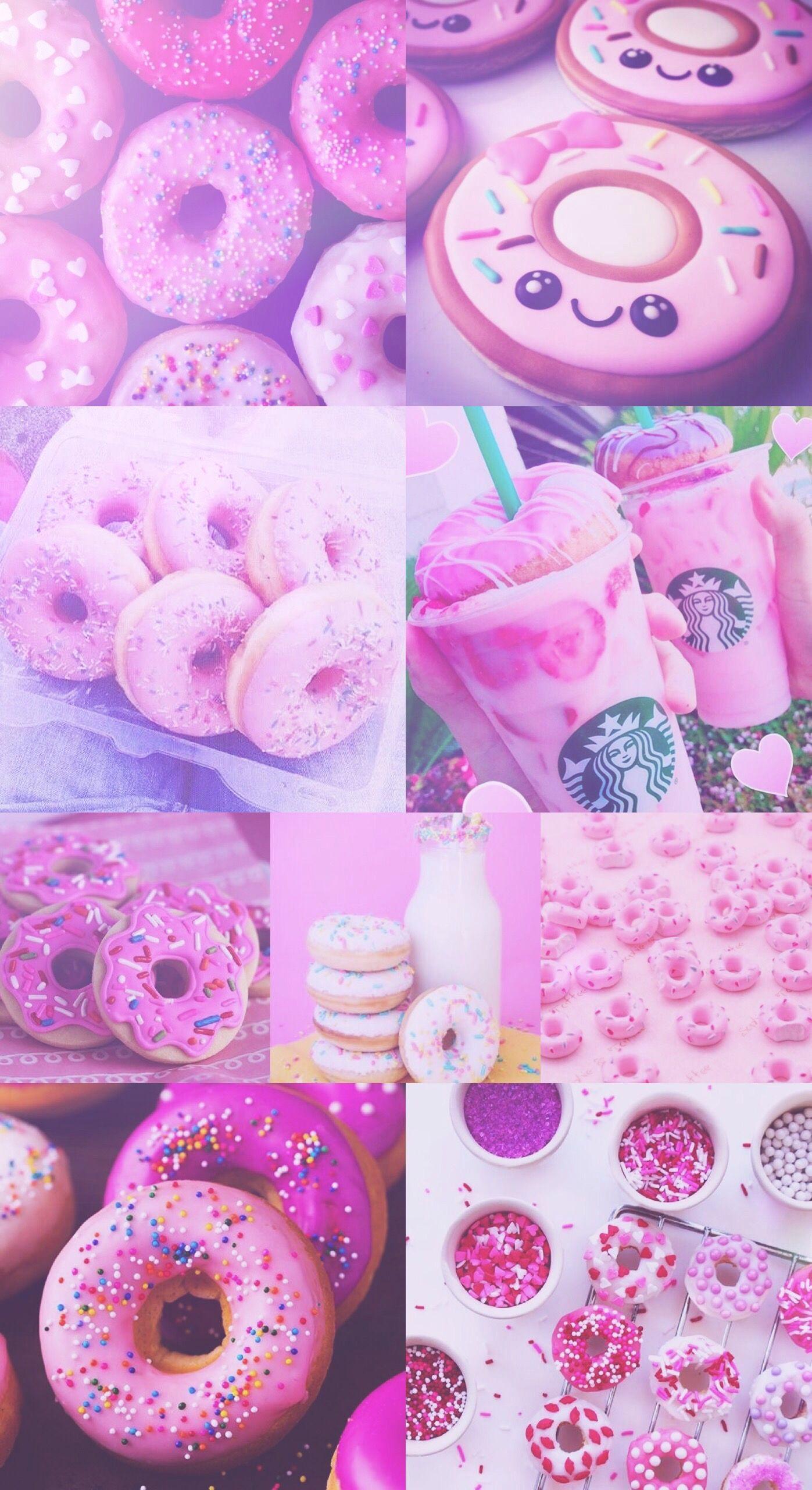 Res: 1397x2560, iPhone 5 Wallpaper Violet Donut Donuts Pink Purple Pretty Starbucks  Wallpaper Hd Of iPhone 5 Wallpaper