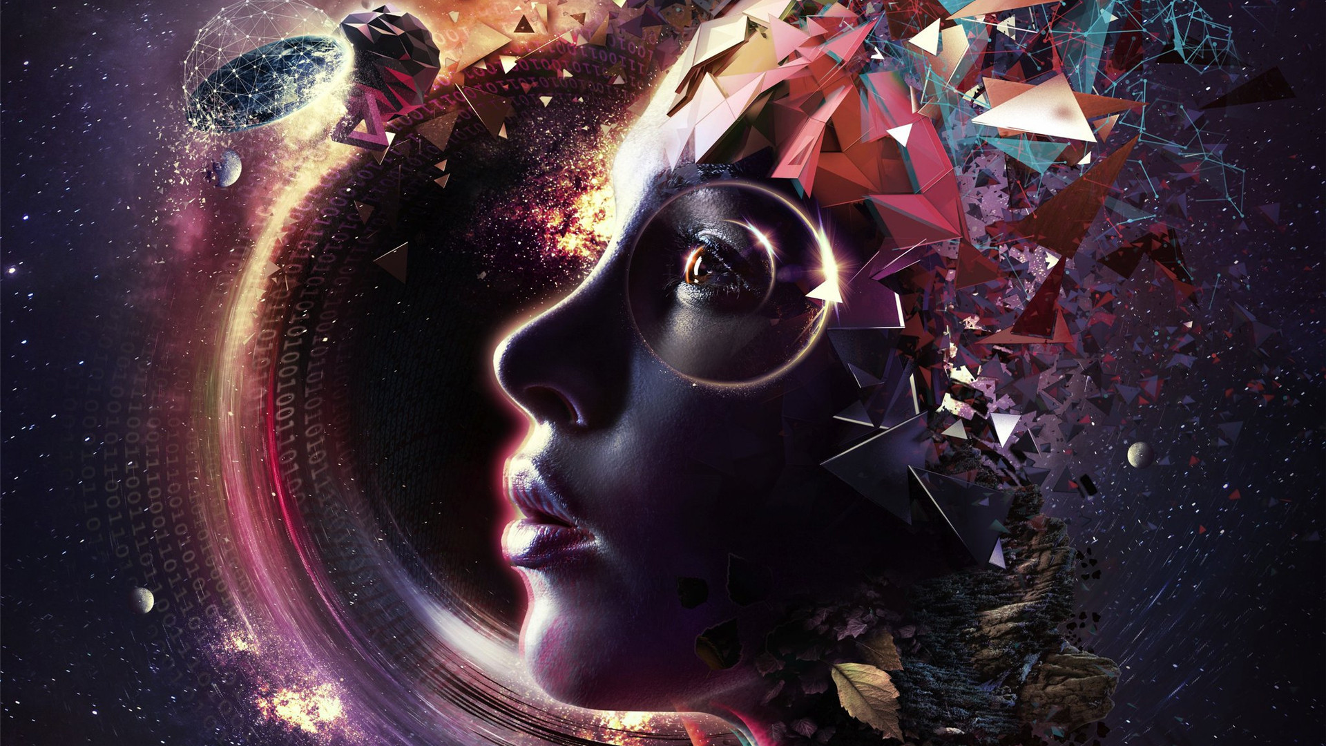 Res: 1920x1080, Epica - The Holographic Principle [] ...