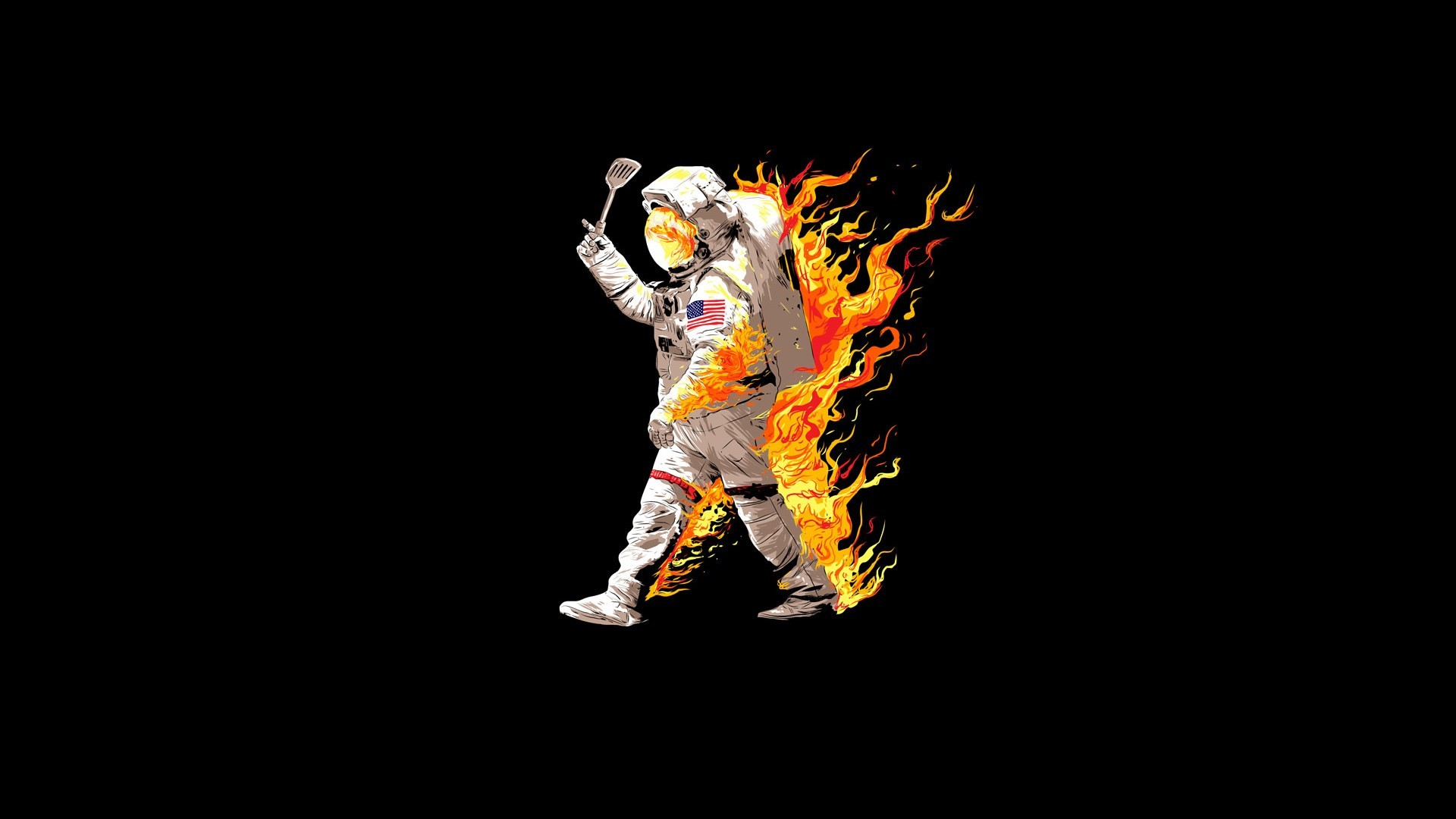 Res: 1920x1080,  computer wallpaper for astronaut