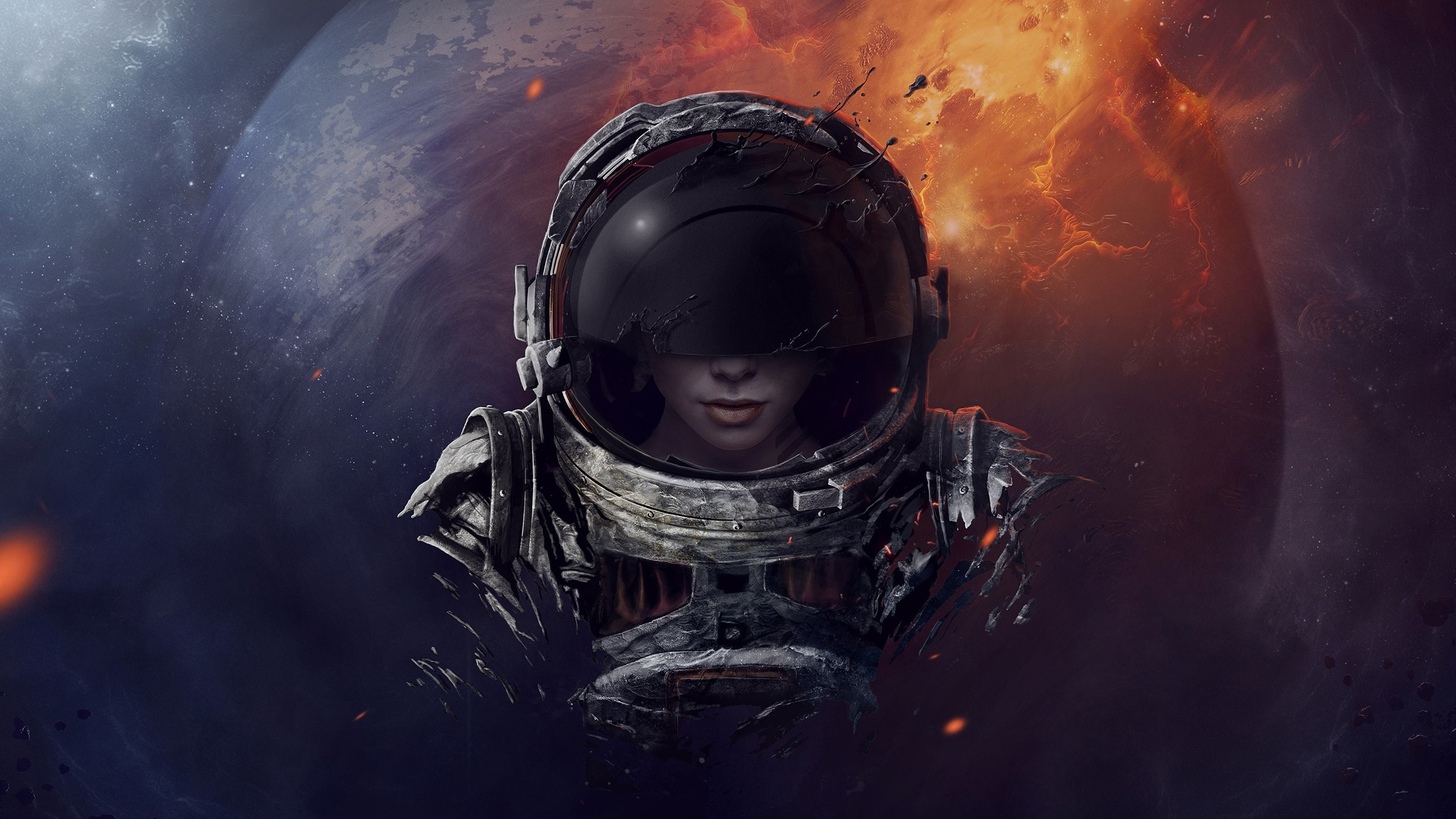 Res: 2560x1440, Astronaut Wallpaper Images For Desktop Wallpaper 2560 x 1440 px 1.08 MB  1920x1080 awesome earth moon