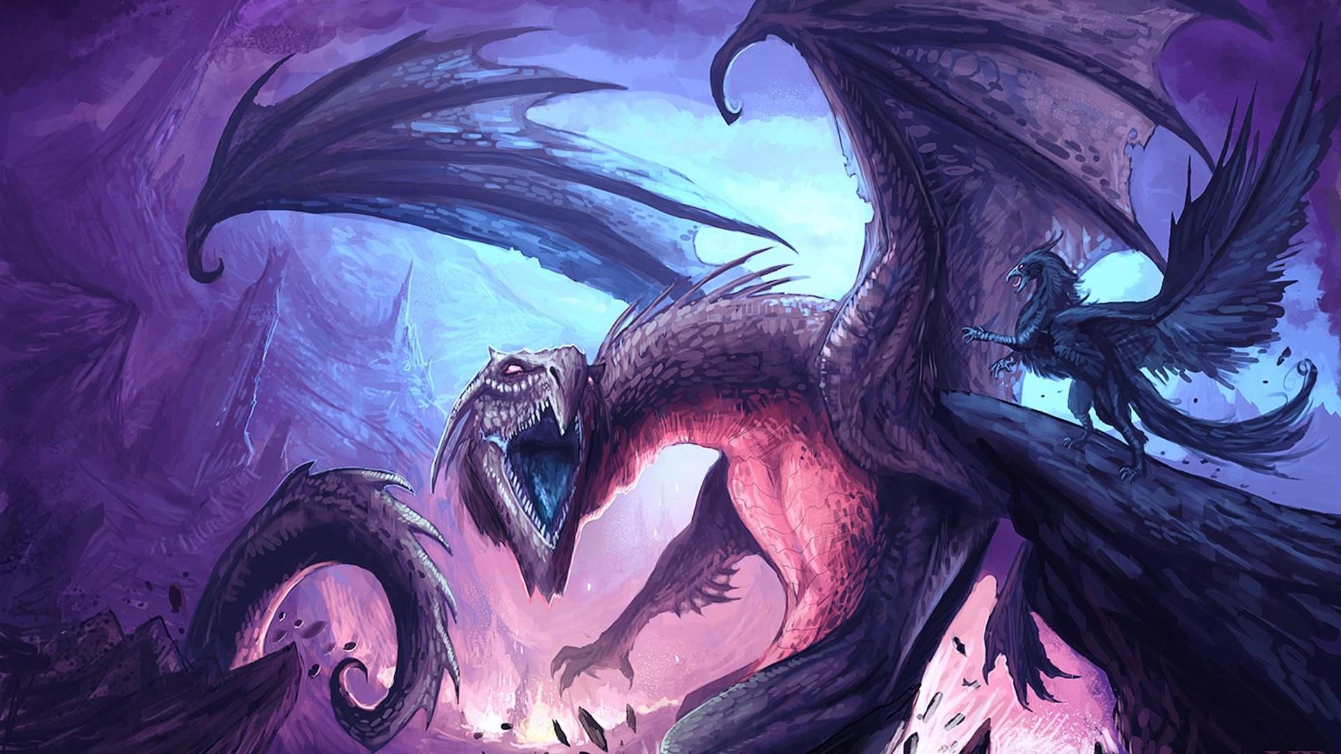 Res: 1920x1080, fantasy dragon wallpaper background