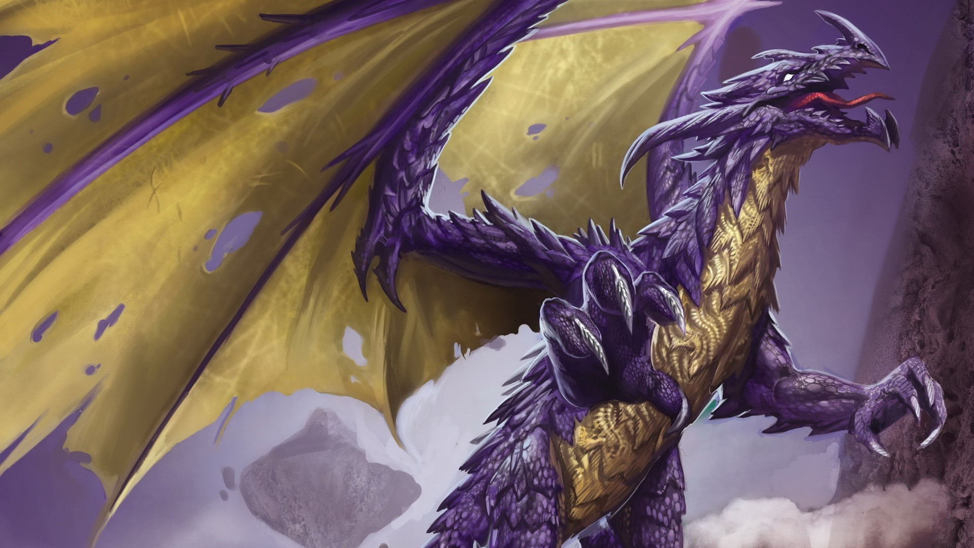Res: 1920x1080, Purple Dragon wallpaper ForWallpapercom