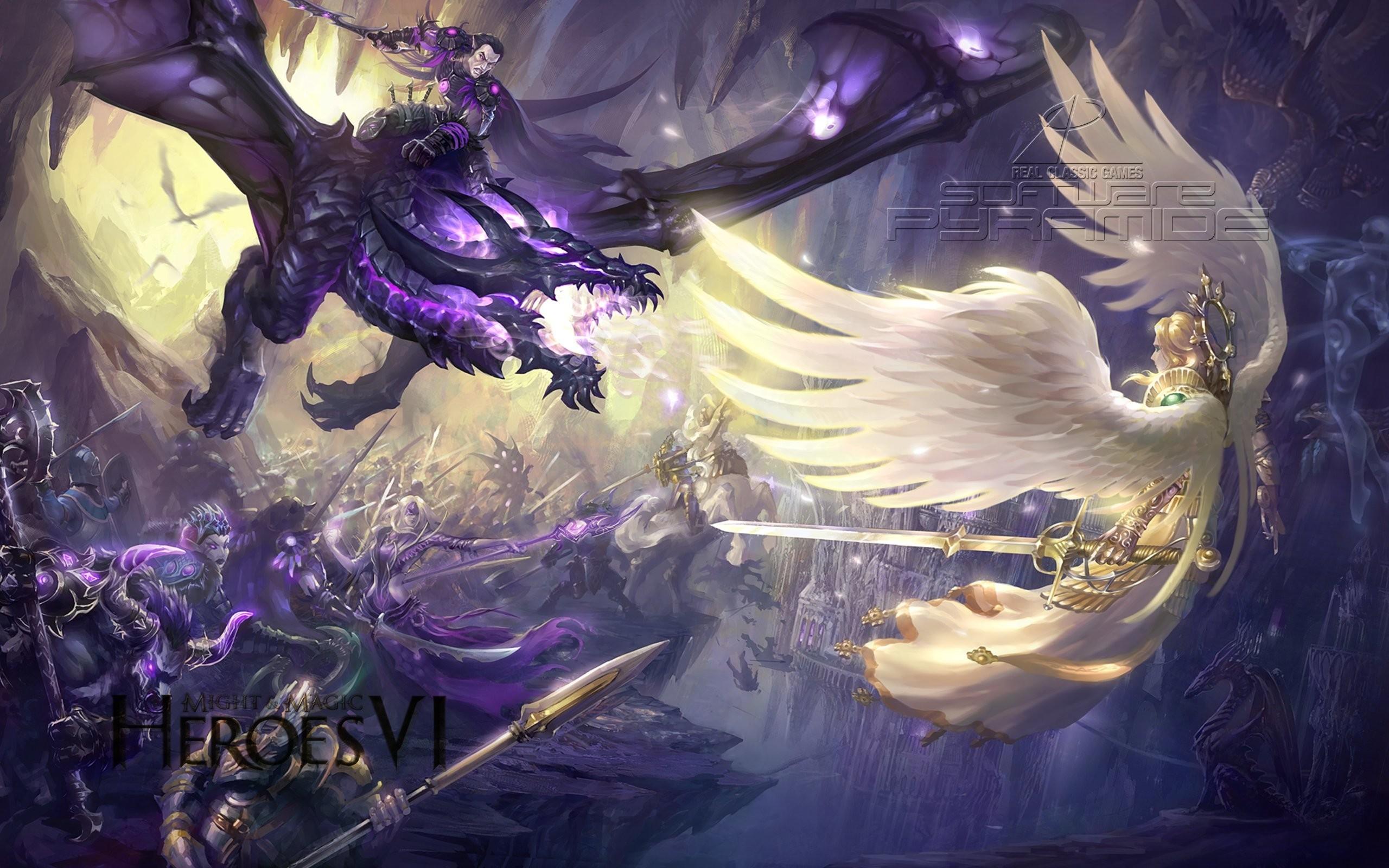 Res: 2560x1600, free-purple-dragon-wallpaper--for-tablet-WTG3094321