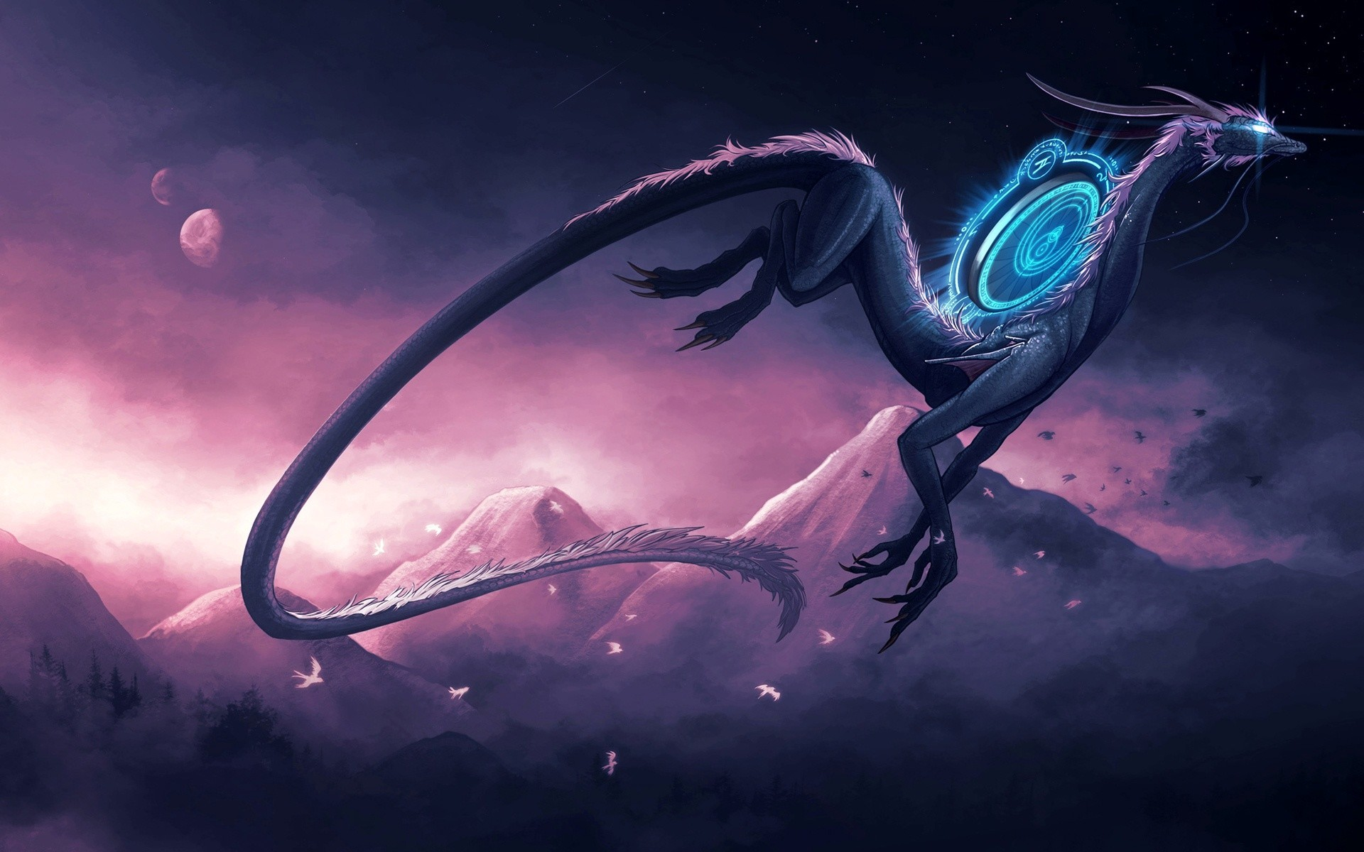 Res: 1920x1200,  Free and Stunning Dragon Wallpaper Collection GraphicLoads  1920×1200