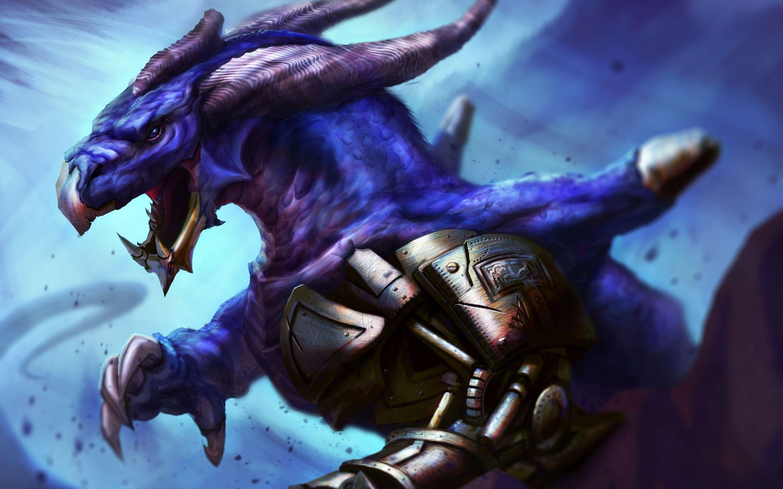 Res: 2880x1800, Angry purple dragon