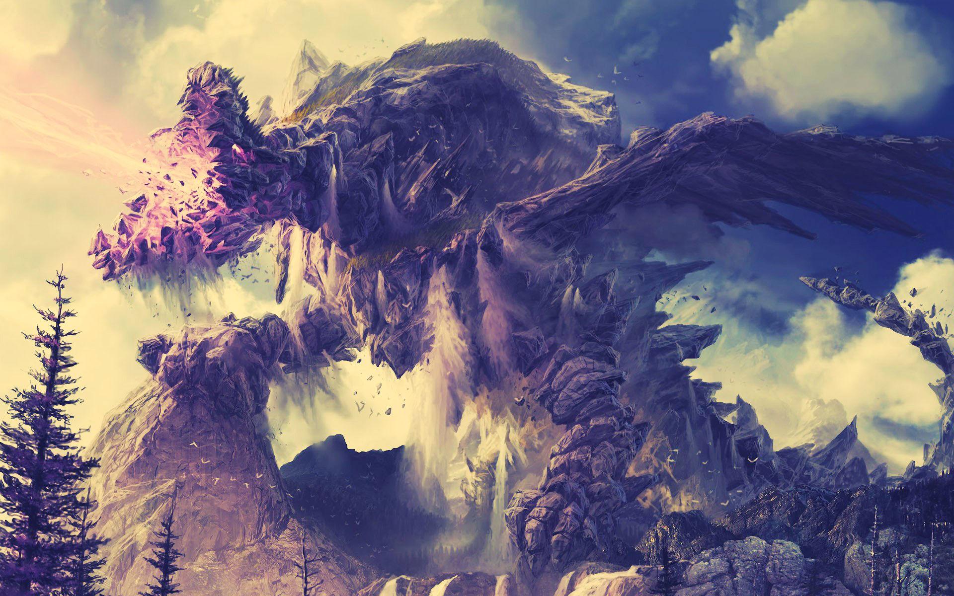 Res: 1920x1200, Dragons & Magical Beasts Wallpaper Dump