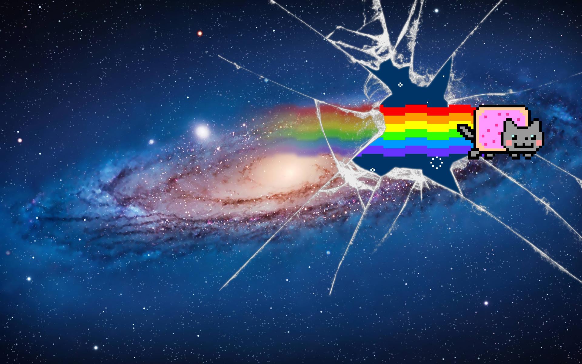 Res: 1920x1200, Nyan Cat Wallpaper