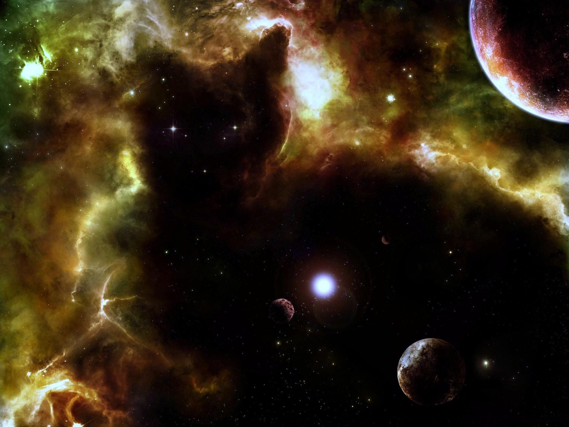 Res: 1920x1440, Black cat in space *LOL* Cat Nebula