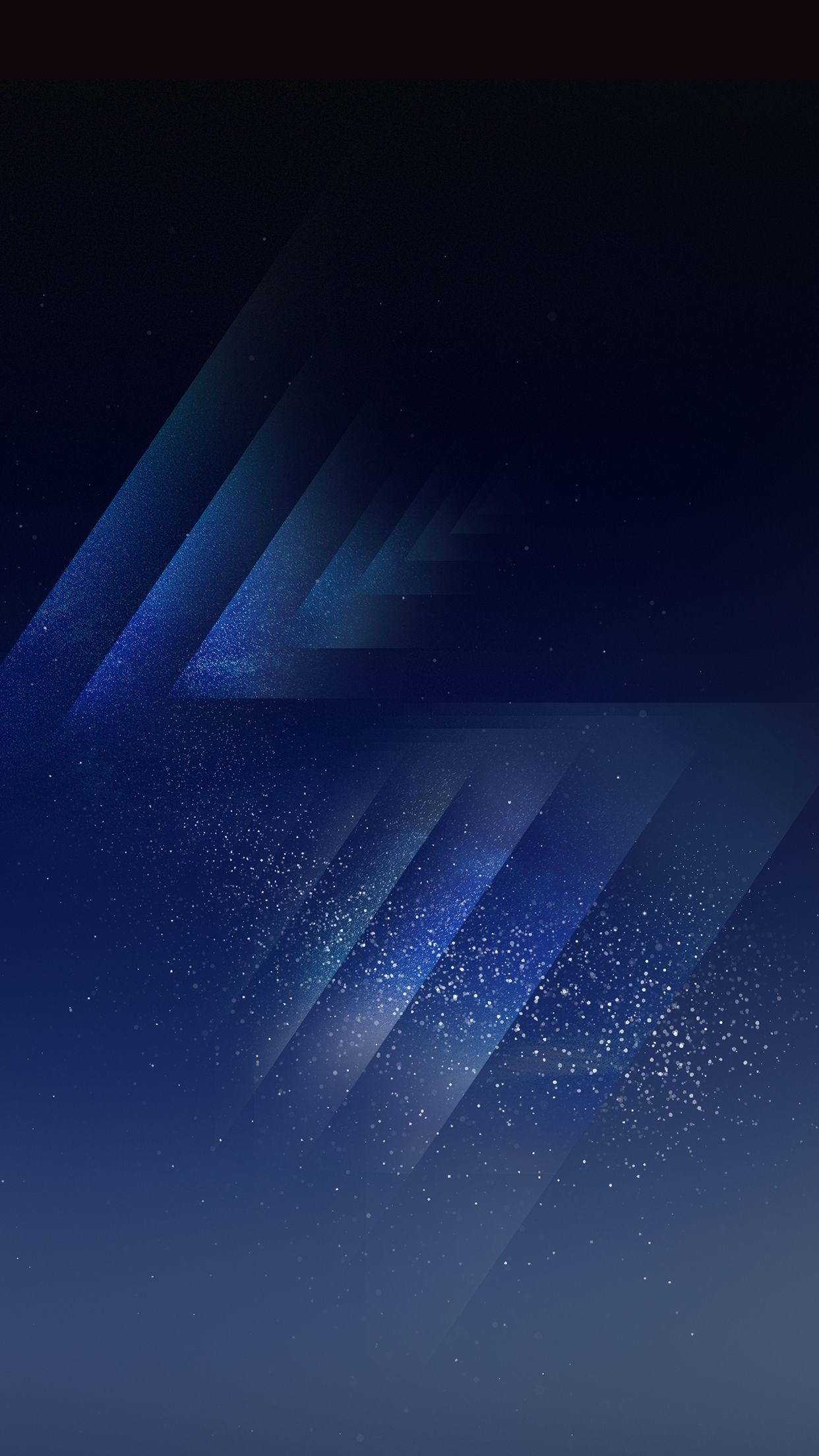 Res: 1242x2208, Blue, wallpaper, galaxy, tranquil, beauty, peaceful, calming, night sky,  abstract, stars, digital art, s8, walls