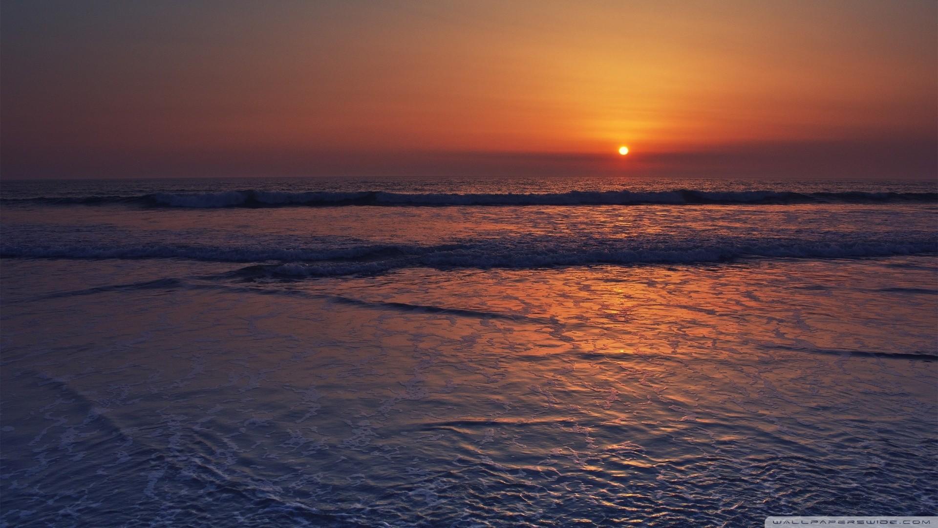 Res: 1920x1080, Calming Sunset Desktop Wallpapers