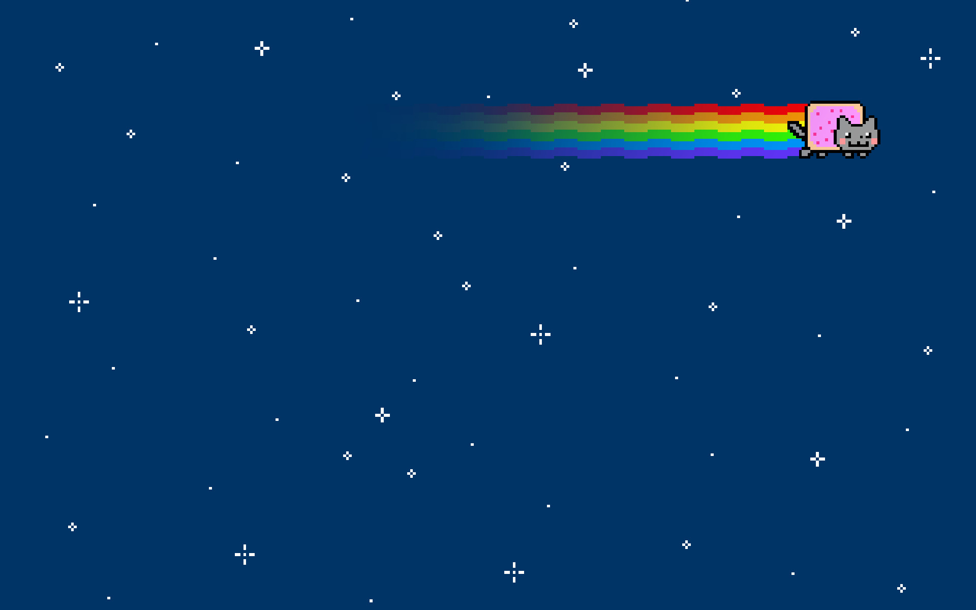Res: 1920x1200, Outer space cats rainbows nyan cat wallpaper |  | 21786 |  WallpaperUP