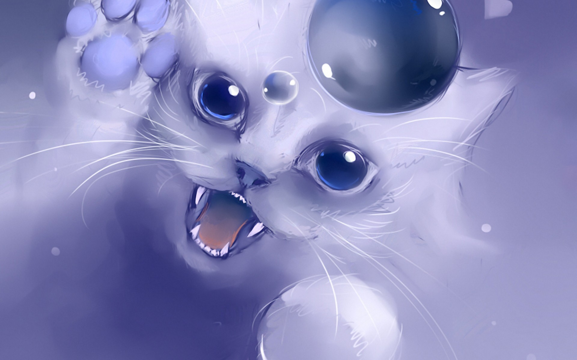 Res: 1920x1200, Cat Background