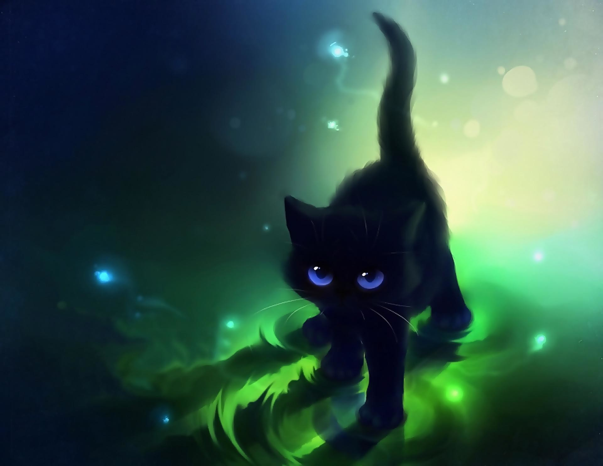 Res: 1920x1483, Images For > Cute Anime Cat Wallpapers | kittens | Pinterest .
