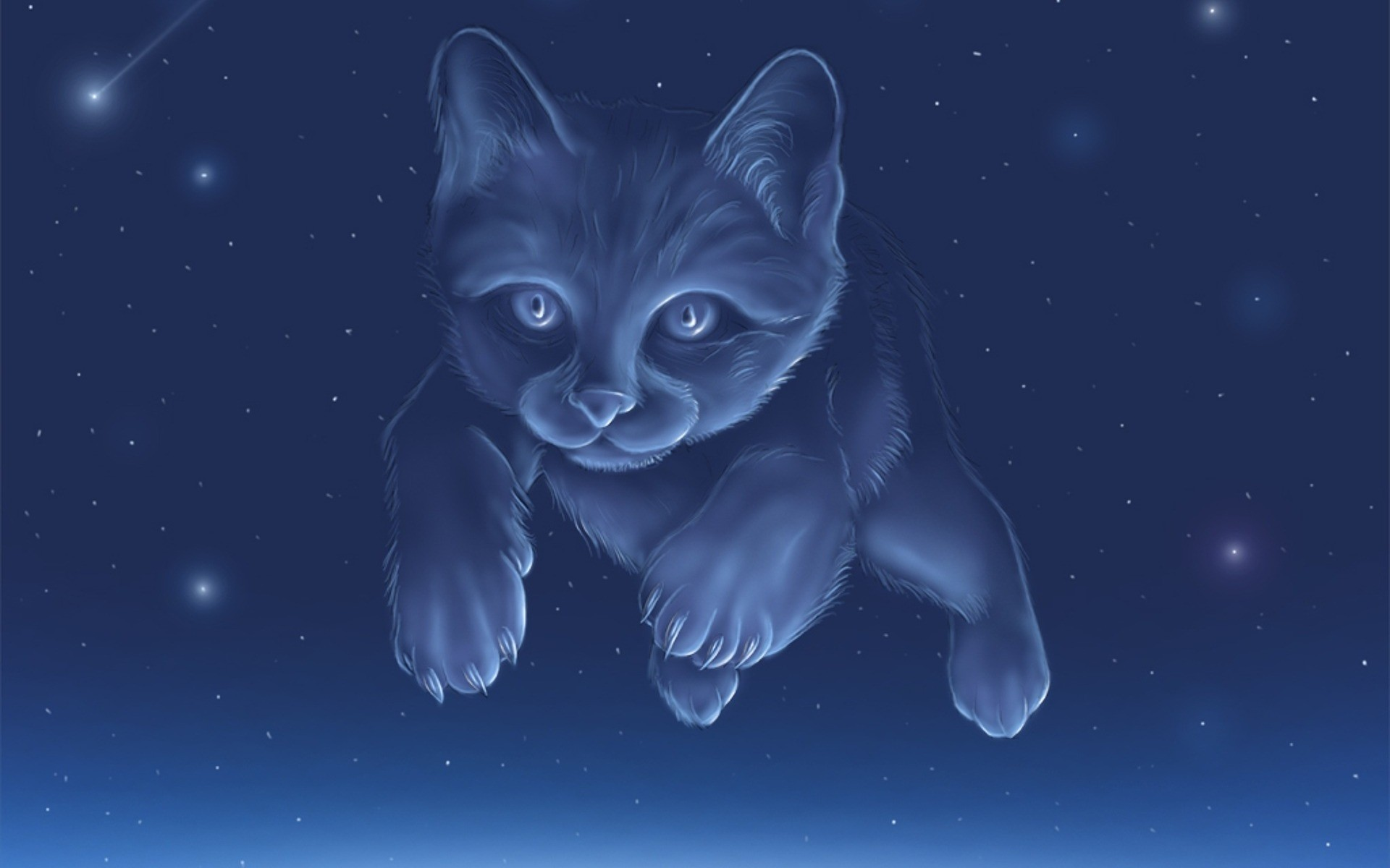 Res: 1920x1200, Constellation of a cat