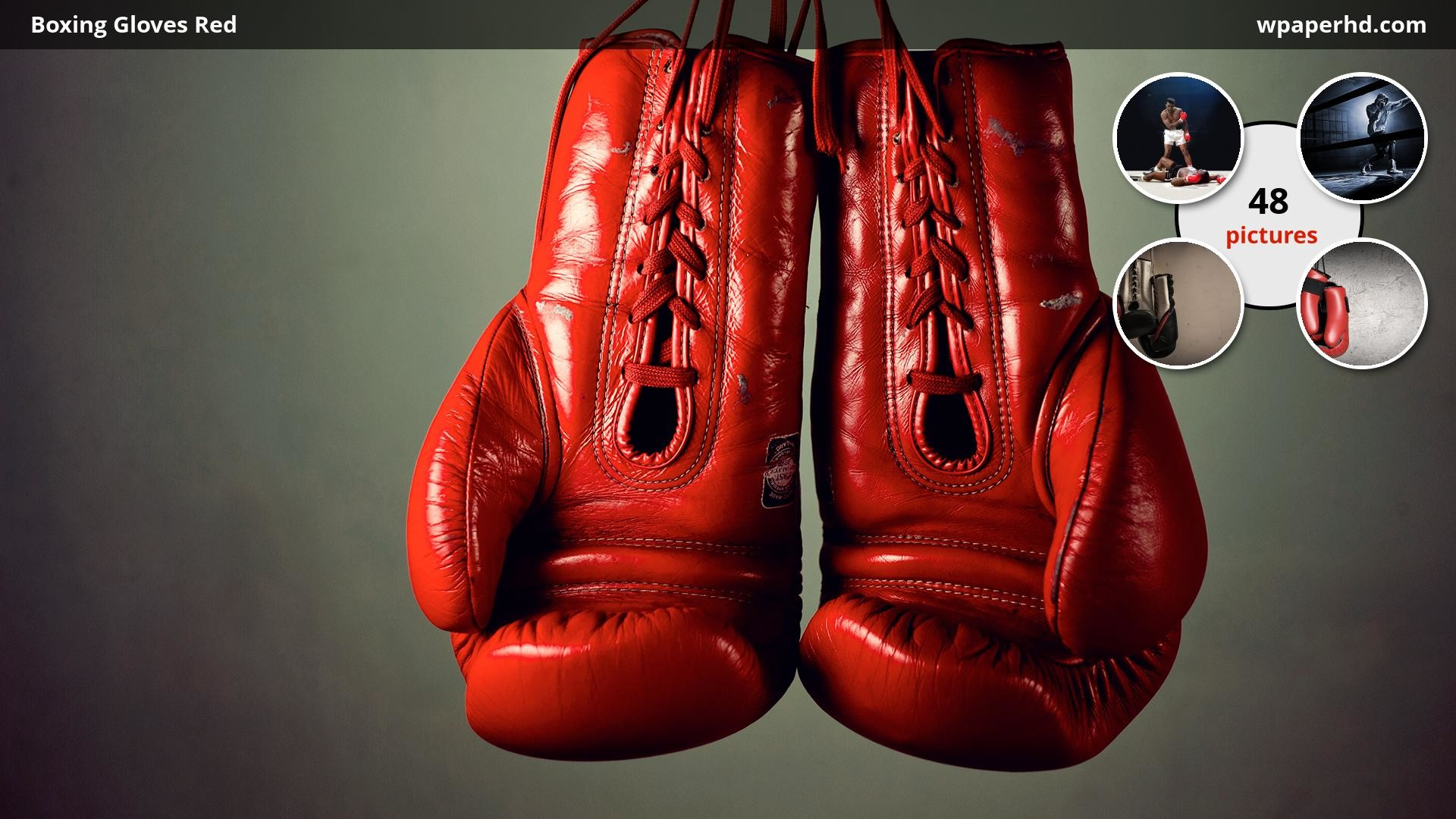 Res: 1920x1080, You are on page with Boxing Gloves Red wallpaper, where you can download  this picture in Original size and ...