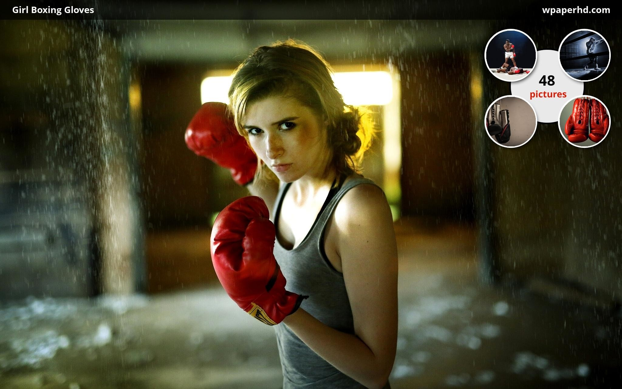 Res: 2048x1281, Description Girl Boxing Gloves wallpaper from Boxing category. You are on  page with Girl Boxing Gloves wallpaper ...
