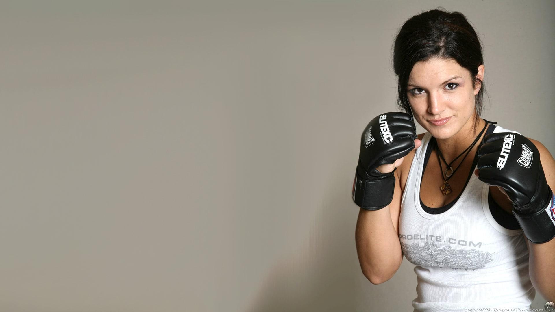 Res: 1920x1080, Gina Carano boxing gloves