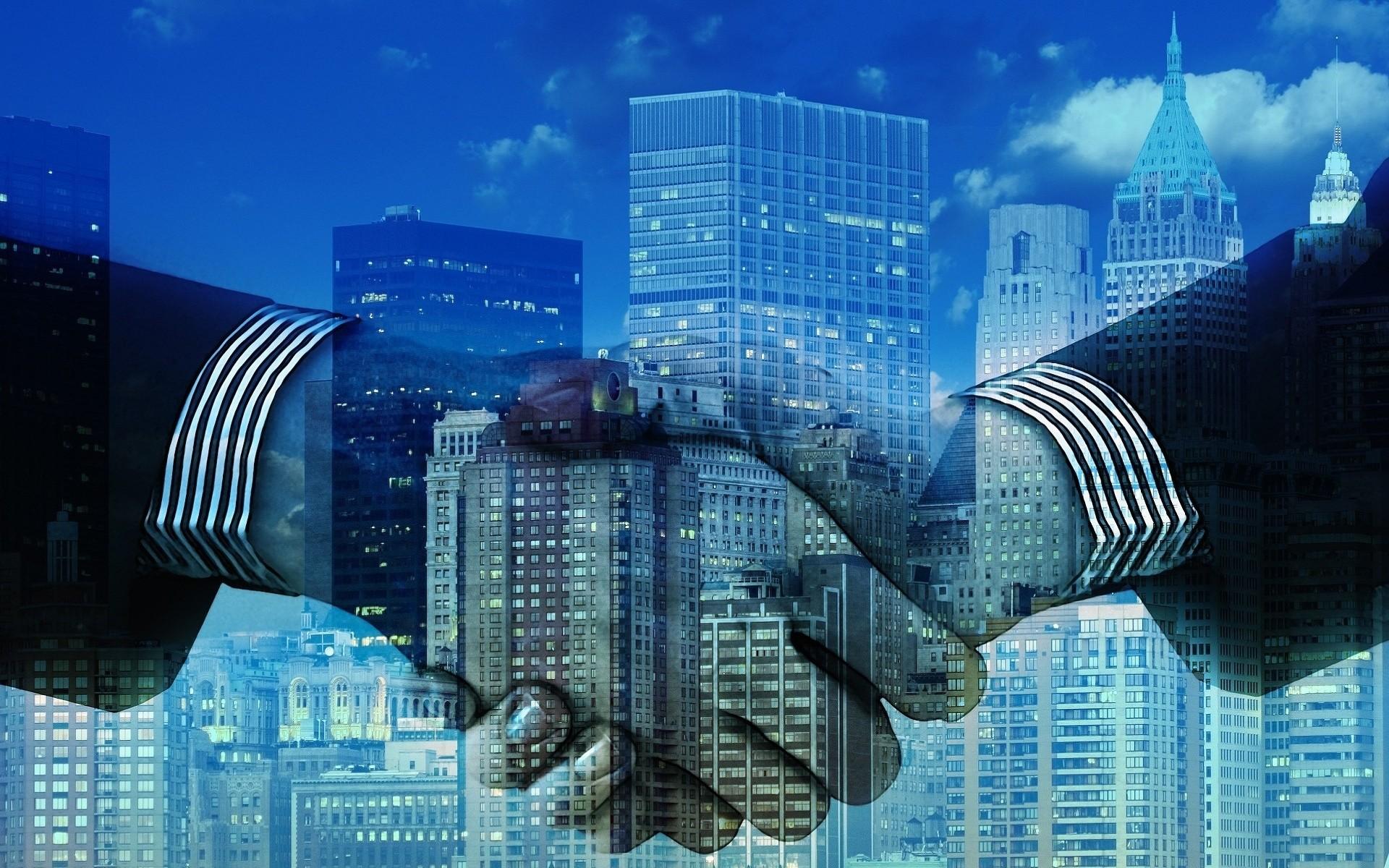 Res: 1920x1200, Hands, City, Business, Partnership, Partners, Handshake