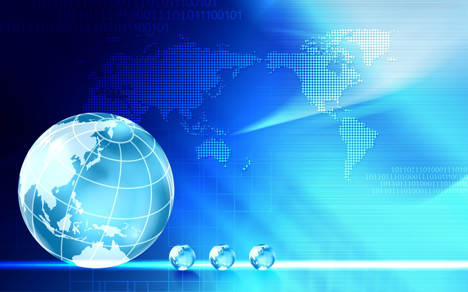 Res: 1920x1200, free 3d business globe hd wallpapers download
