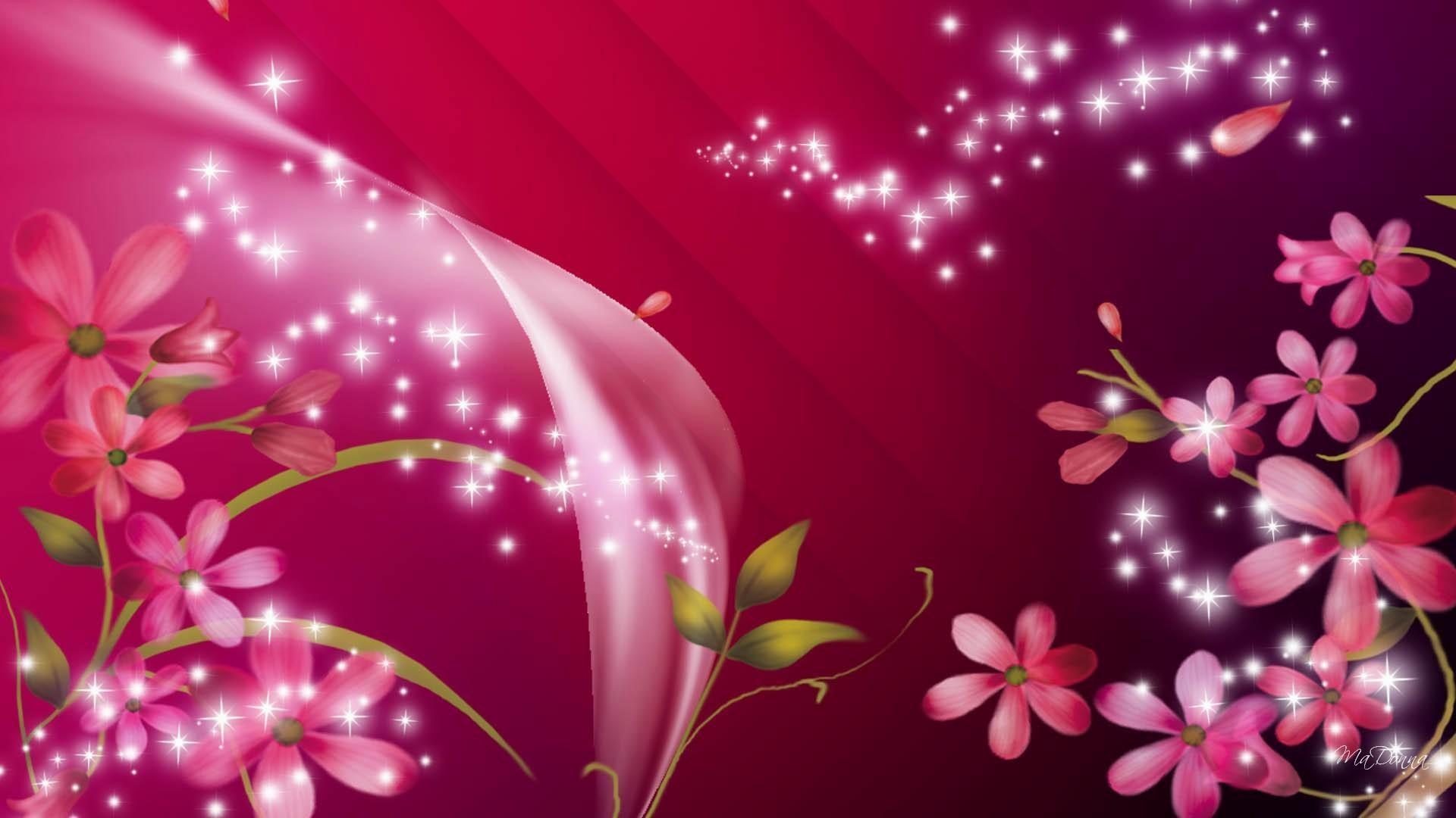 Res: 1920x1080, 6. pink-glitter-wallpaper6-600x338