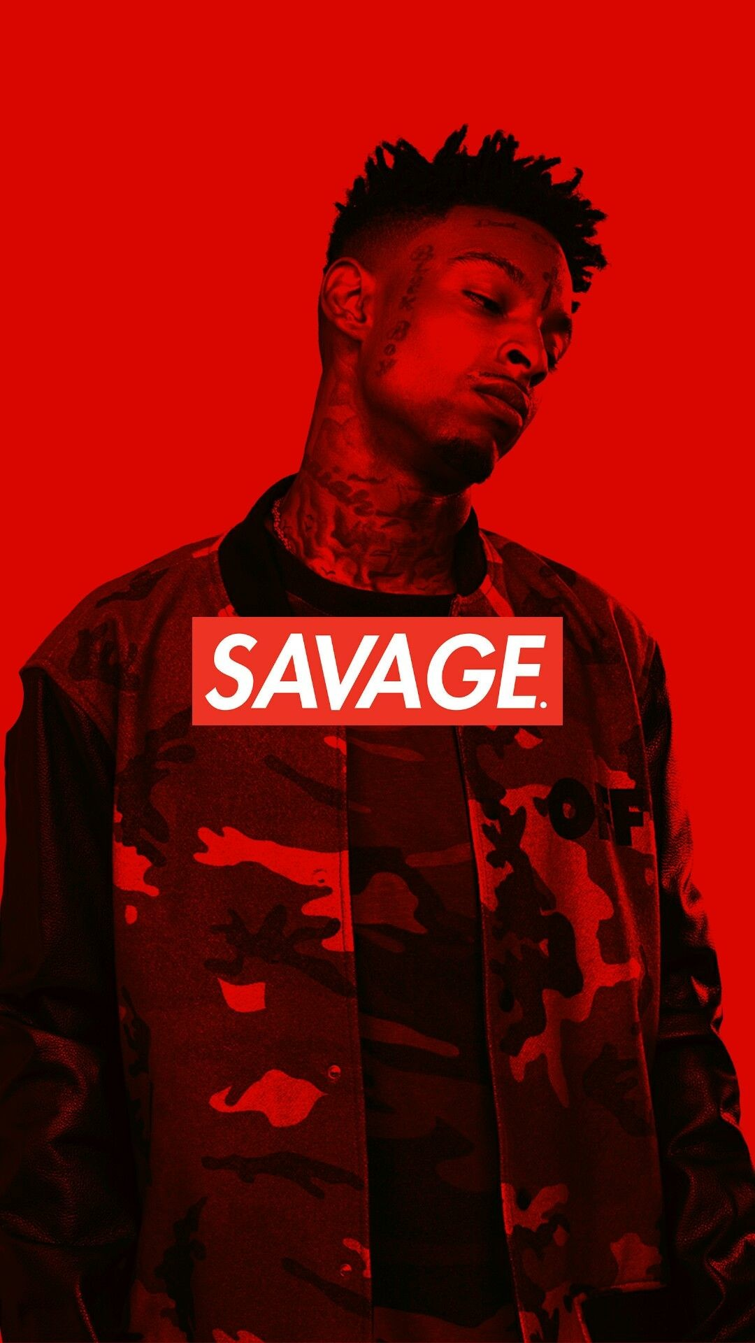 Res: 1080x1920, 21 Savage IPhone Wallpaper Savage box logo