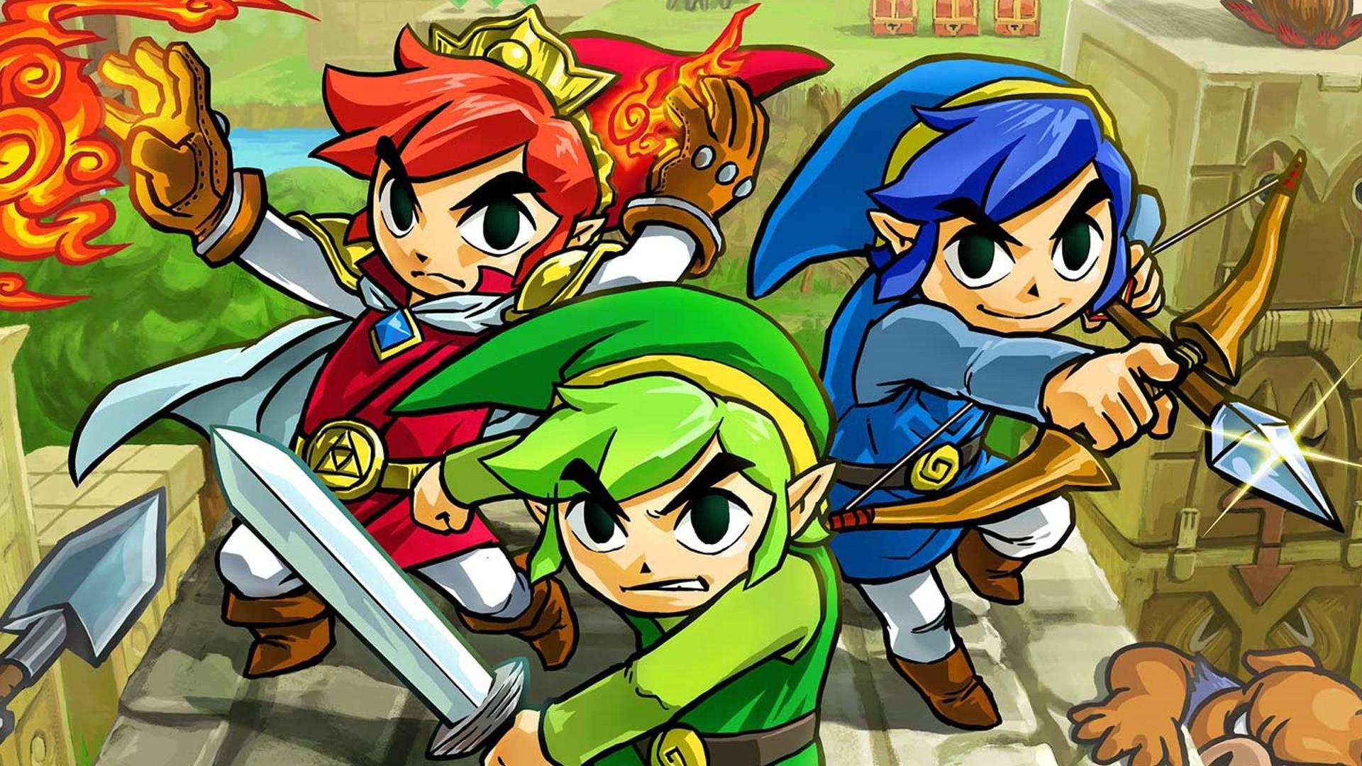 Res: 1920x1080, Zelda Tri Force Heroes Screenshots
