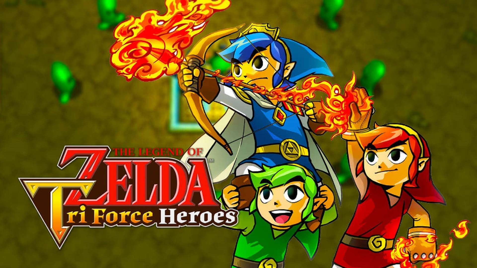 Res: 1920x1080, Tri Force Heroes Wallpaper