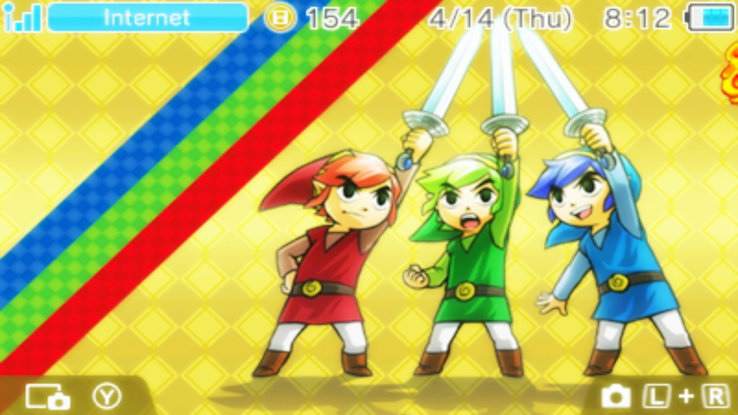 Res: 2560x1440, ... ObsessedGamerGal86 Triforce Heroes 3DS Wallpaper #3 by  ObsessedGamerGal86