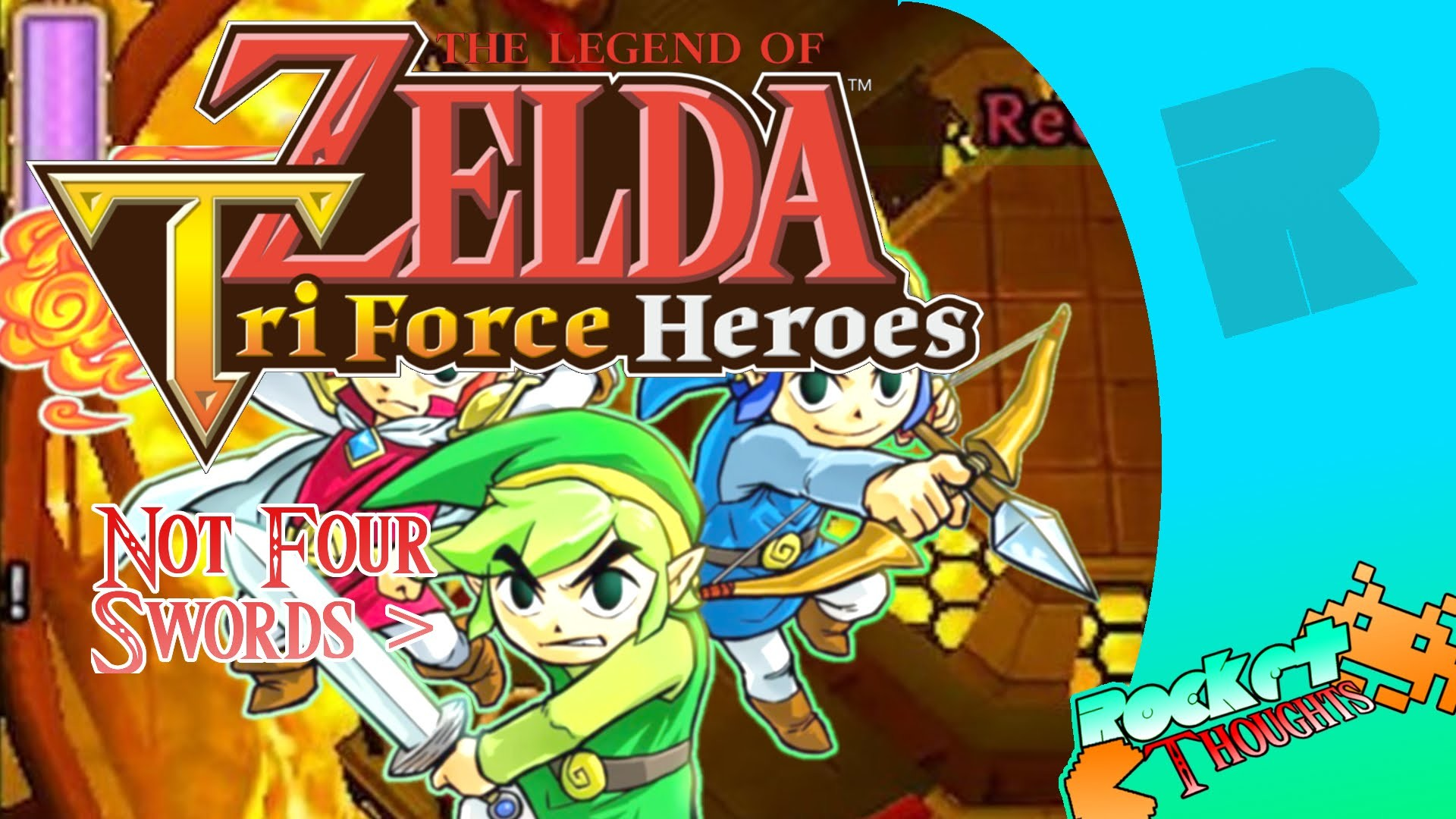 Res: 1920x1080, The Legend Of Zelda: Triforce Heroes ISN'T Four Swords! EXPLAINED Gameplay  - Rocket Thoughts - YouTube