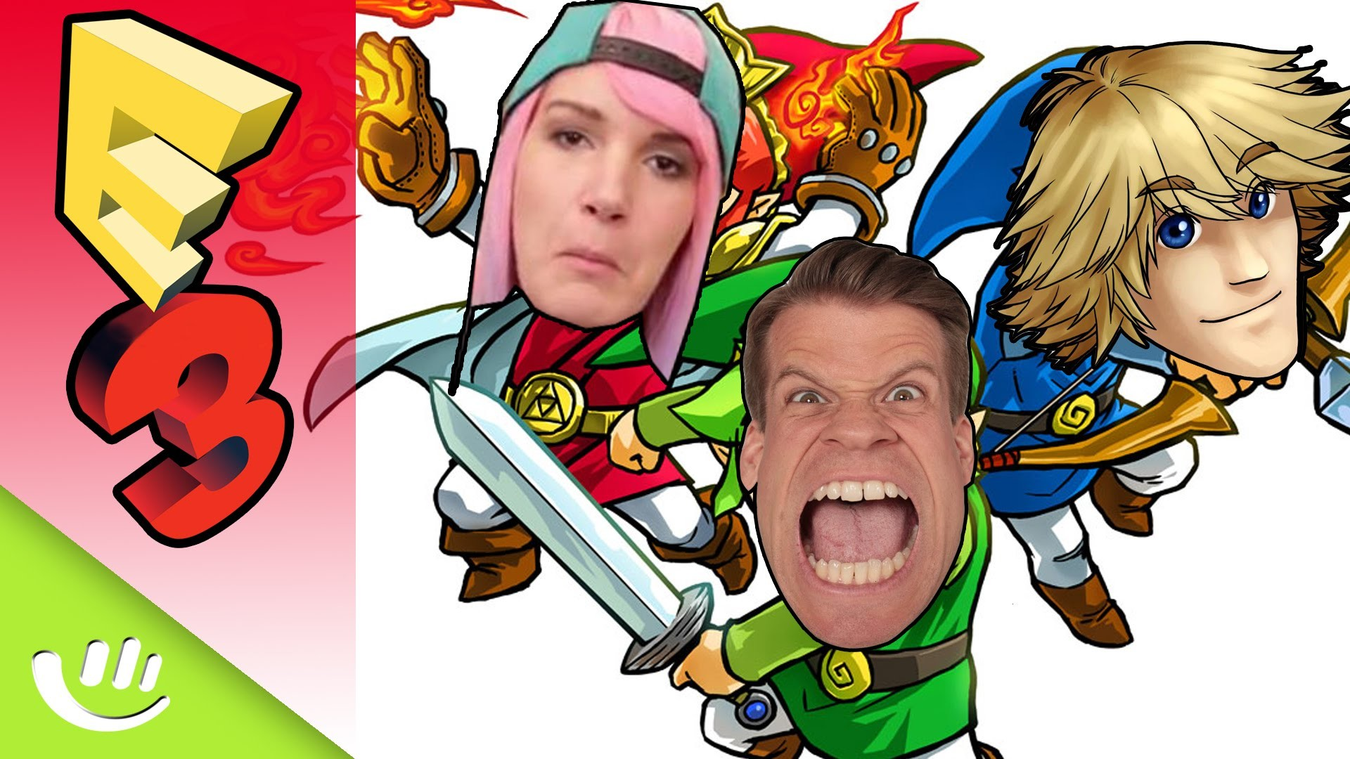 Res: 1920x1080, Unschlagbares Team in Zelda: Triforce Heroes - E32015