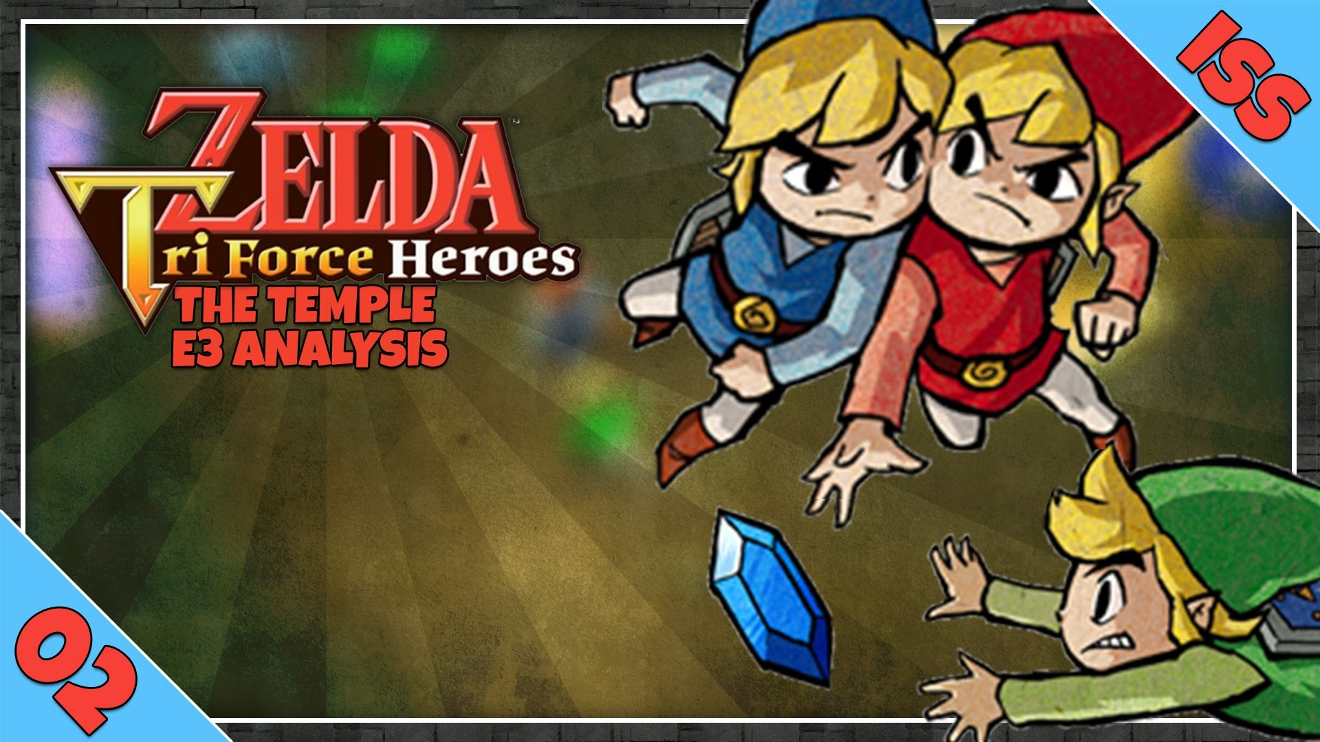 Res: 1920x1080, The Legend of Zelda: Triforce Heroes Gameplay Analysis Part 2 | The Temple