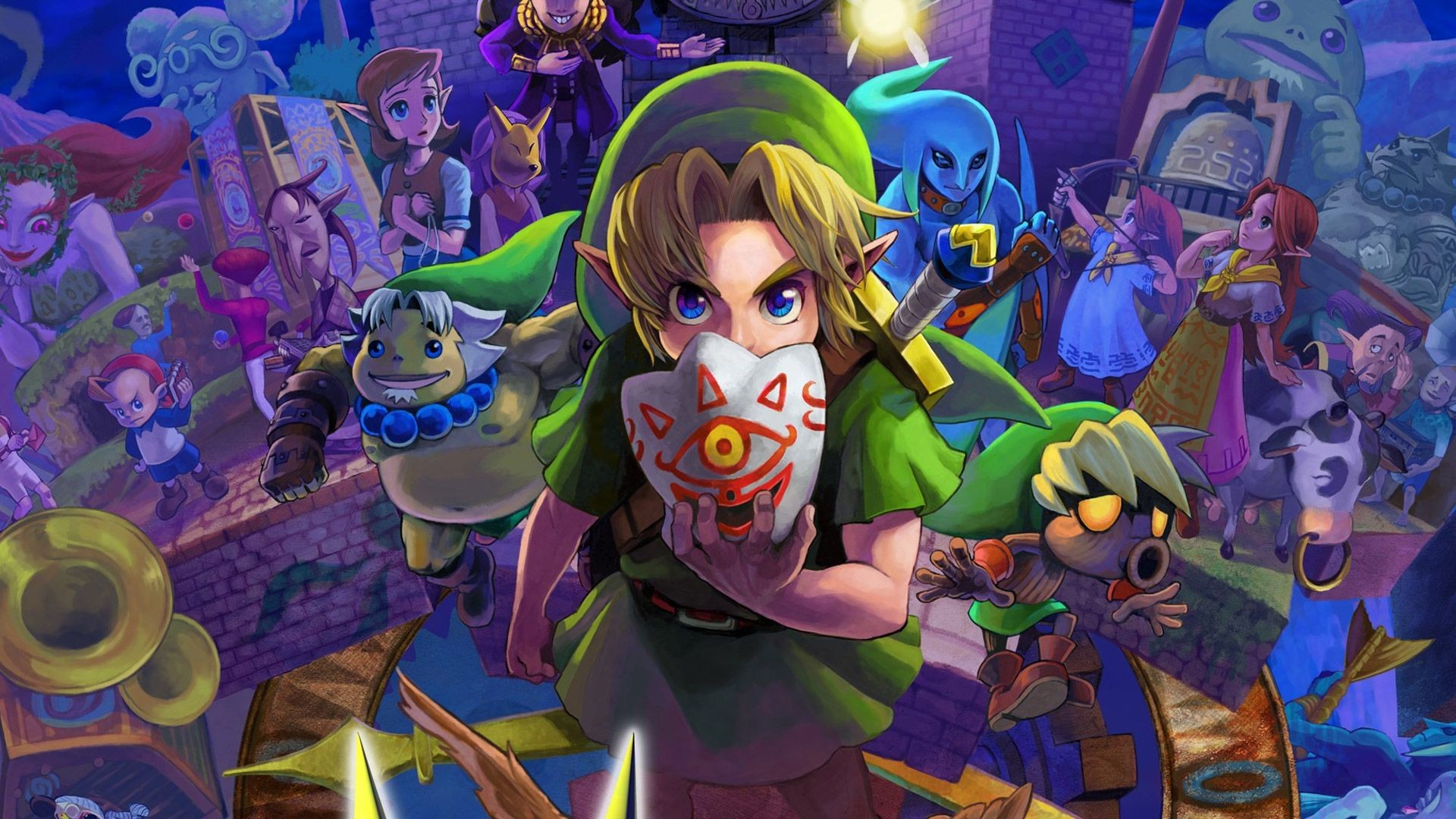 Res: 1920x1080, The Legend Of Zelda HD high quality wallpapers download