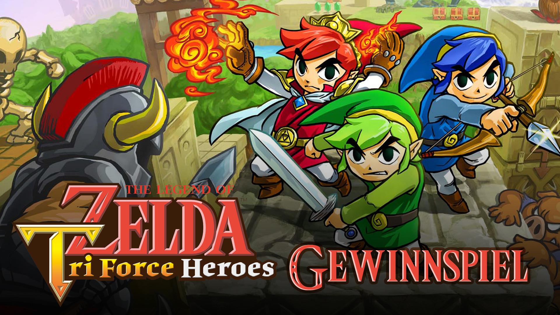 Res: 1920x1080, Zelda Tri Force Heroes: Gewinn mit uns 1.500 Codes für die limitierte Demo!  – GIGA