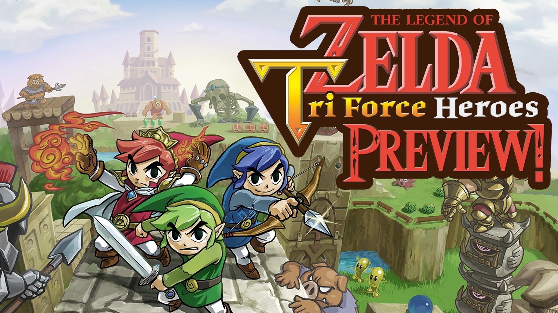 Res: 1920x1080, The Legend of Zelda Triforce Heroes ☆ Preview ☆ Deutsch German