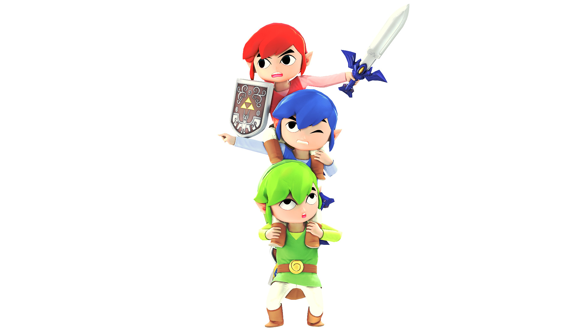 Res: 1920x1080, Triforce Heroes by ZRehman11 Triforce Heroes by ZRehman11