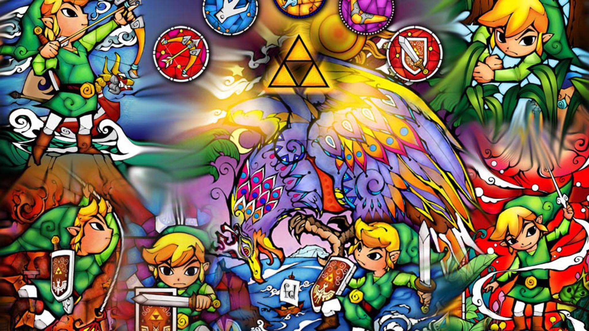 Res: 1920x1080, video games, Link, triforce, The Legend of Zelda - Free Wallpaper /  WallpaperJam.com